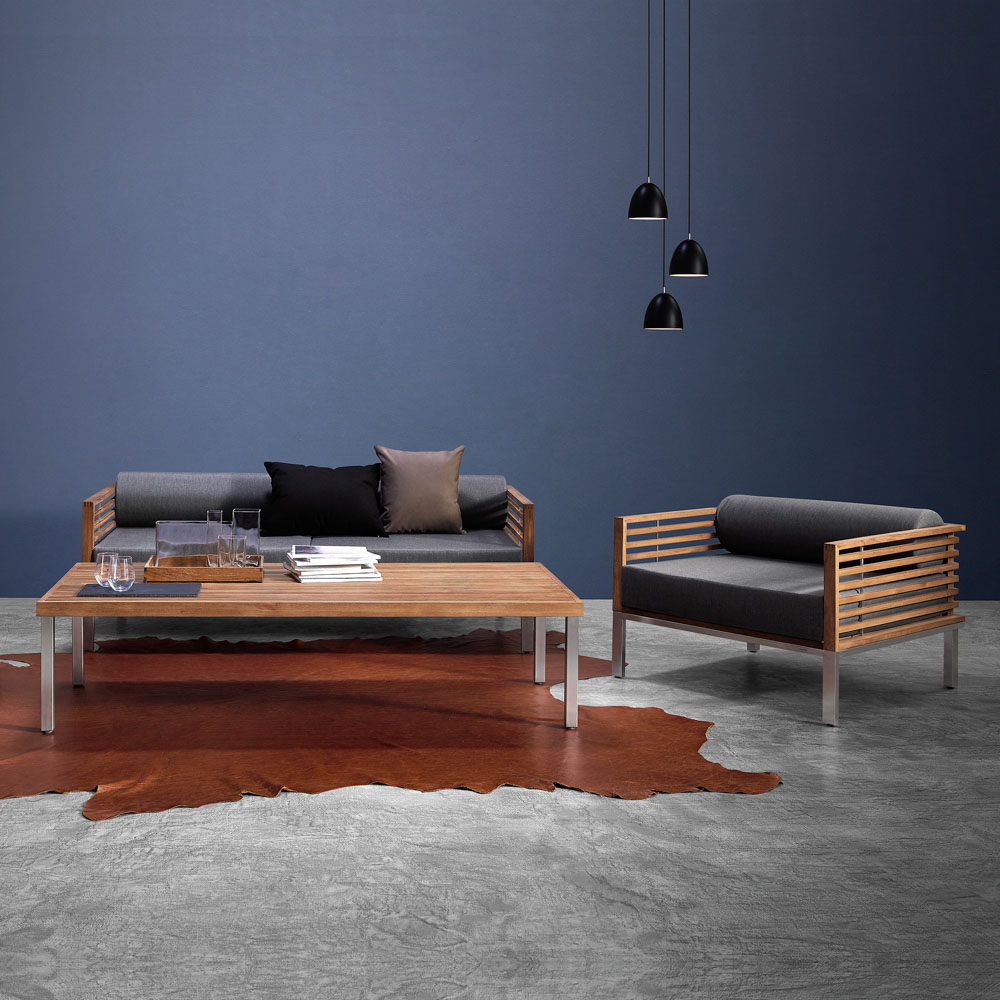 Well Known Large Teak Coffee Tables With Regard To Beo Coffee Table, Large (View 18 of 20)