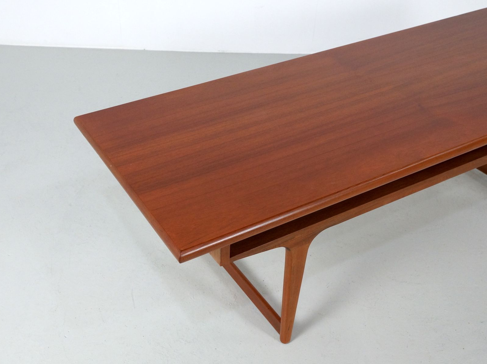 Well Known Large Teak Danish Coffee Table, 1960s For Sale At Pamono Within Large Teak Coffee Tables (View 19 of 20)
