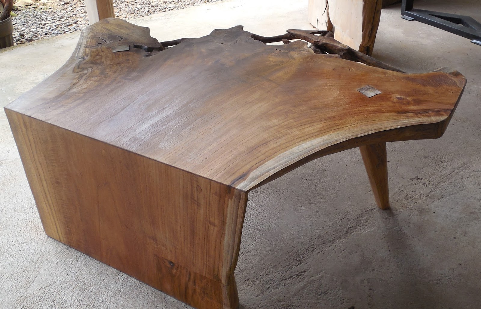 Well Known Live Edge Teak Coffee Tables Regarding Island Teak Company (View 7 of 20)