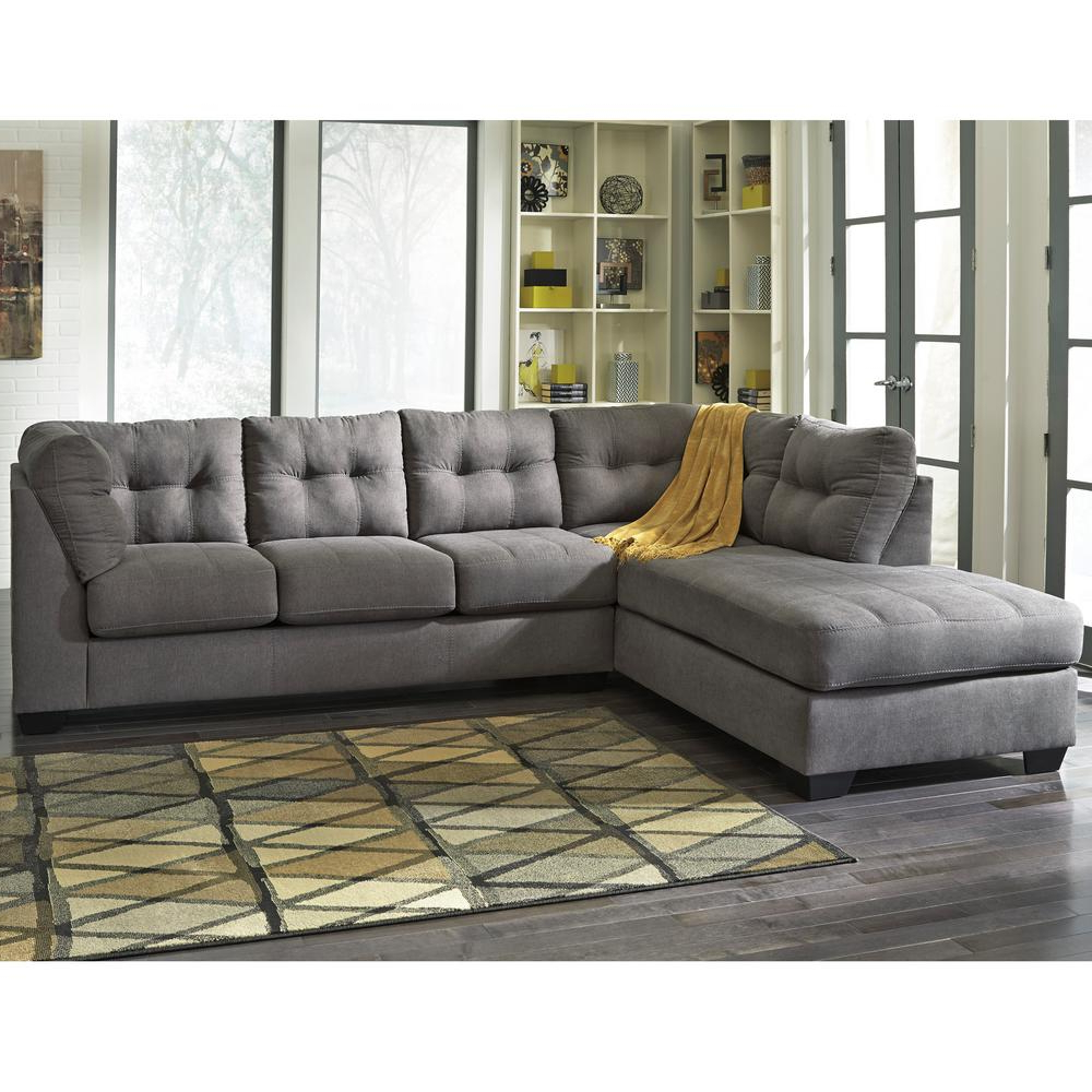 Well Known Marissa Ii 3 Piece Sectionals With Simpli Home Marisa Deep Umber Brown Sectional Axcmrs 04 Dub – The (View 13 of 20)