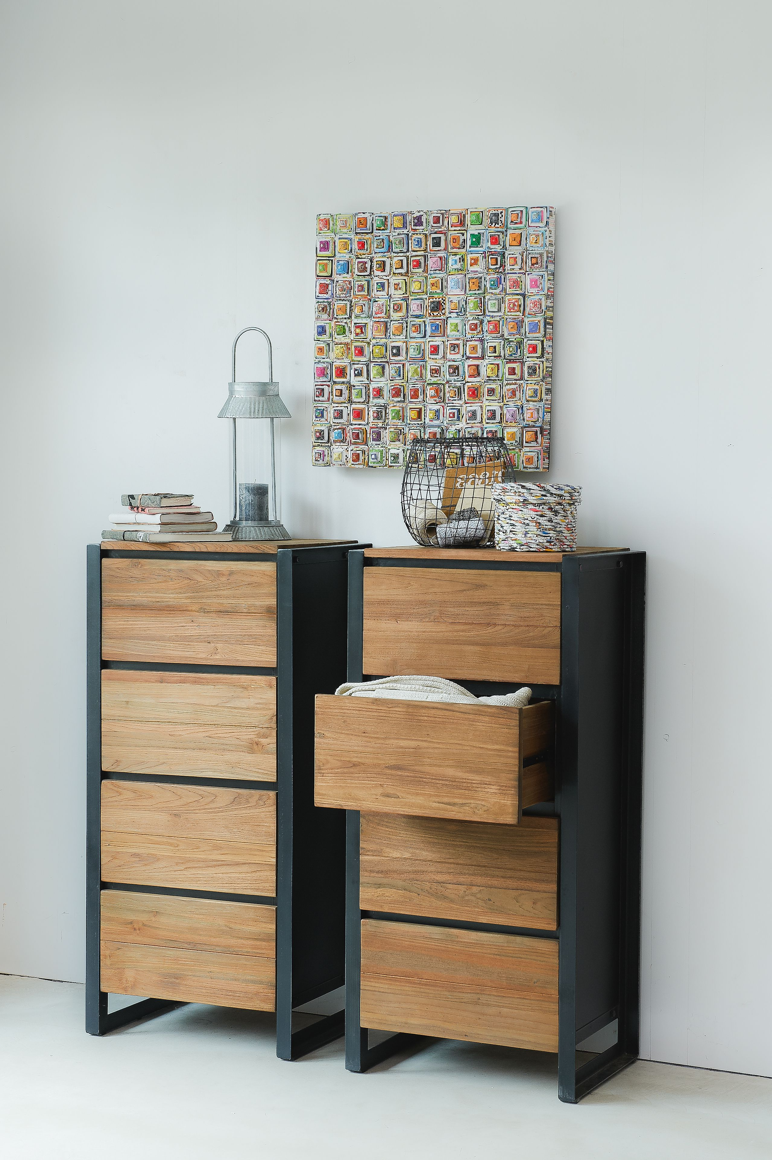 Well Known Metal Framed Reclaimed Wood Sideboards Throughout Beautiful Drawers Dressers Made From Reclaimed Wood With Iron Frames (View 18 of 20)