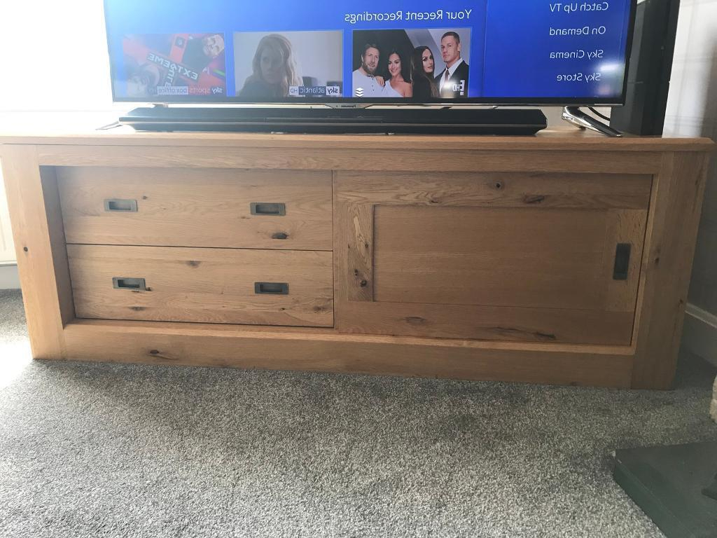 Well Known Next Solid Oak Hudson Tv Unit (View 7 of 20)
