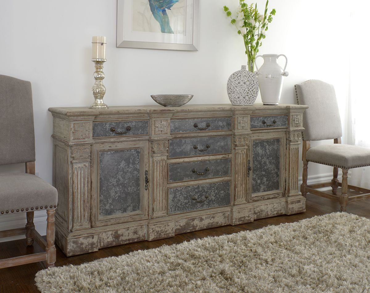 Well Known Reclaimed Sideboards With Metal Panel Throughout Rustic, Reclaimed And Relaxed Newmar Sideboard At Star Furniture In (View 20 of 20)