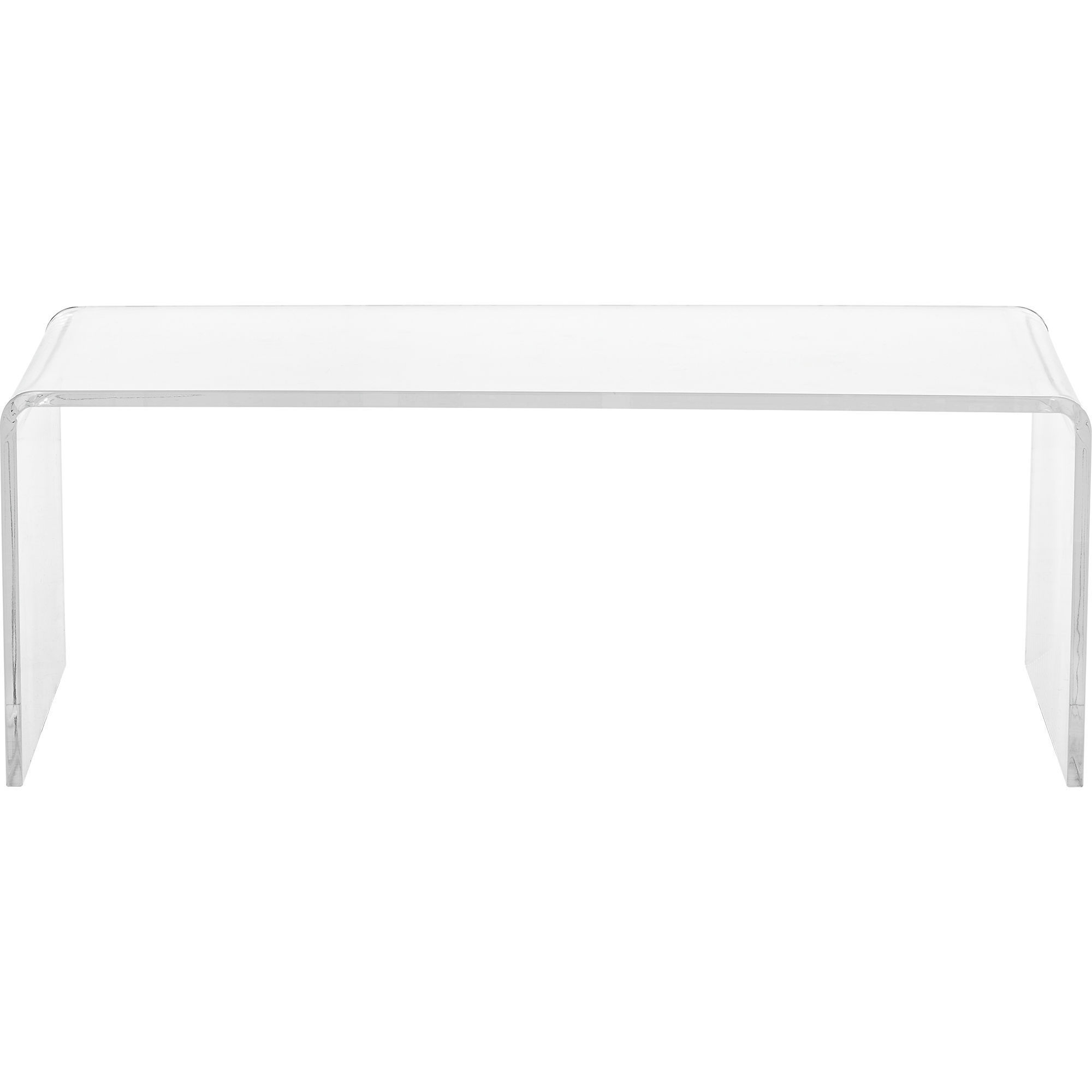 Well Known Shop Clear Acrylic Coffee Table – Free Shipping Today – Overstock Intended For Peekaboo Acrylic Tall Coffee Tables (View 16 of 20)