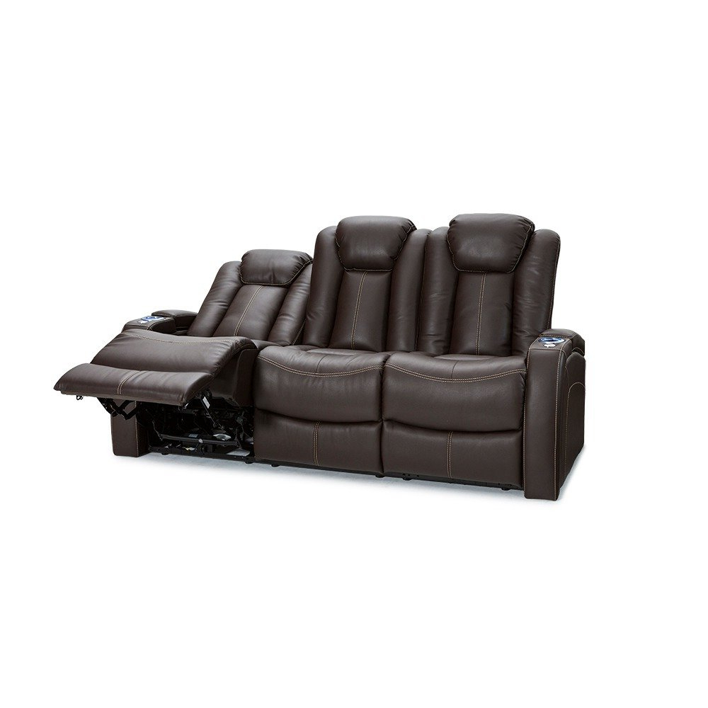 Well Known Sierra Down 3 Piece Sectionals With Laf Chaise For Shop Seatcraft Omega Leather Gel Home Theater Seating Power Recline (View 19 of 20)
