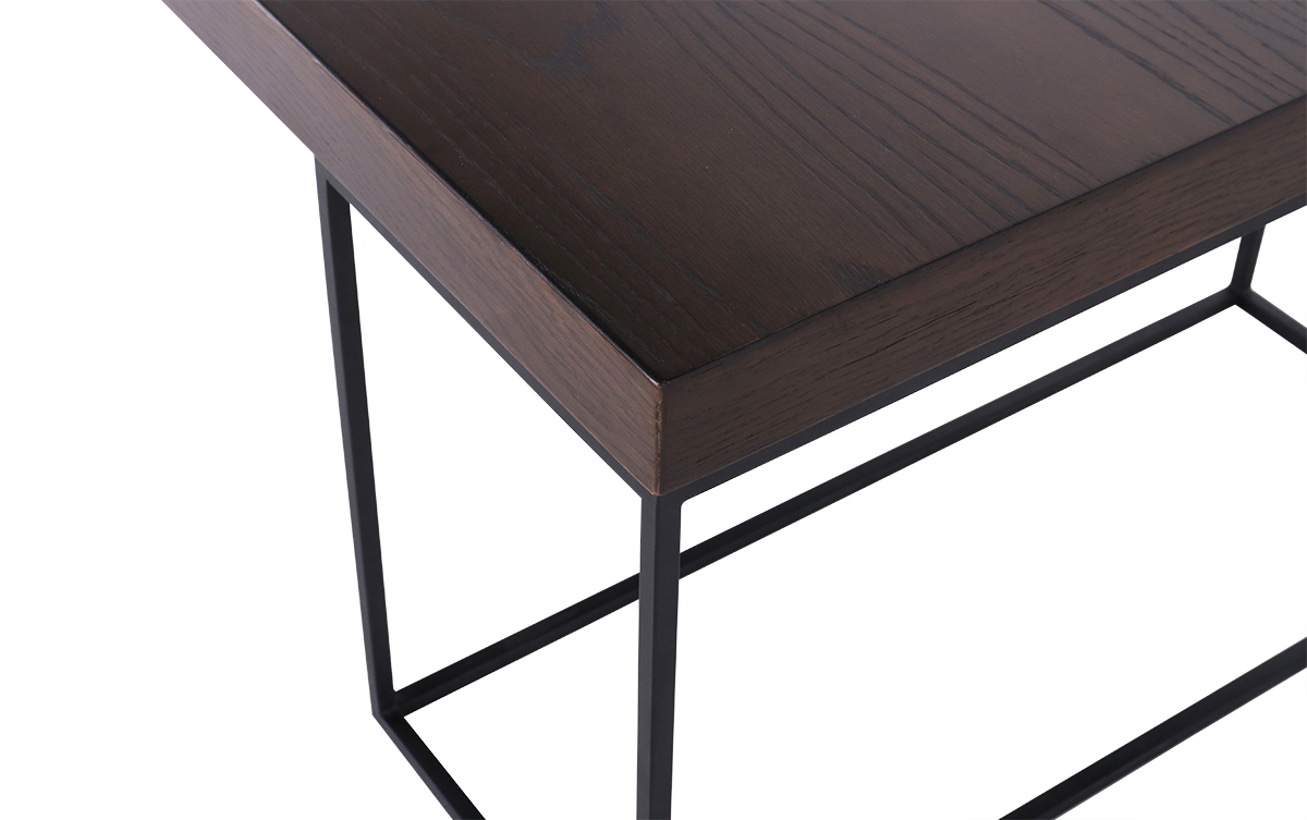 Well Known Smoked Oak Side Tables Throughout Coffee Table Mercury Smoked Oak * Cécile And Boyd (View 20 of 20)