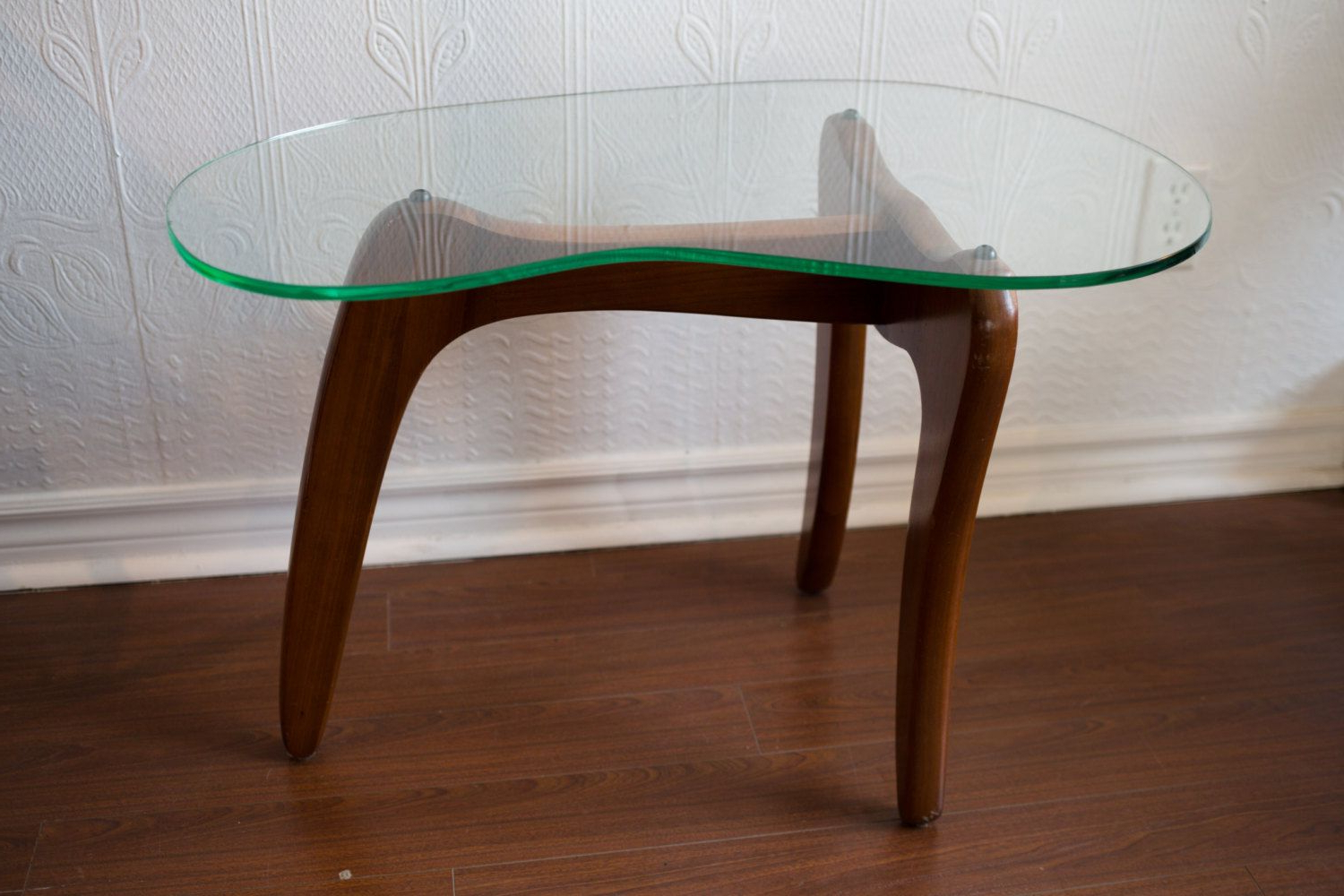 Well Known Toronto – Mid Century Modern Small Wood Coffee Table With Kidney In Jelly Bean Coffee Tables (Gallery 1 of 20)