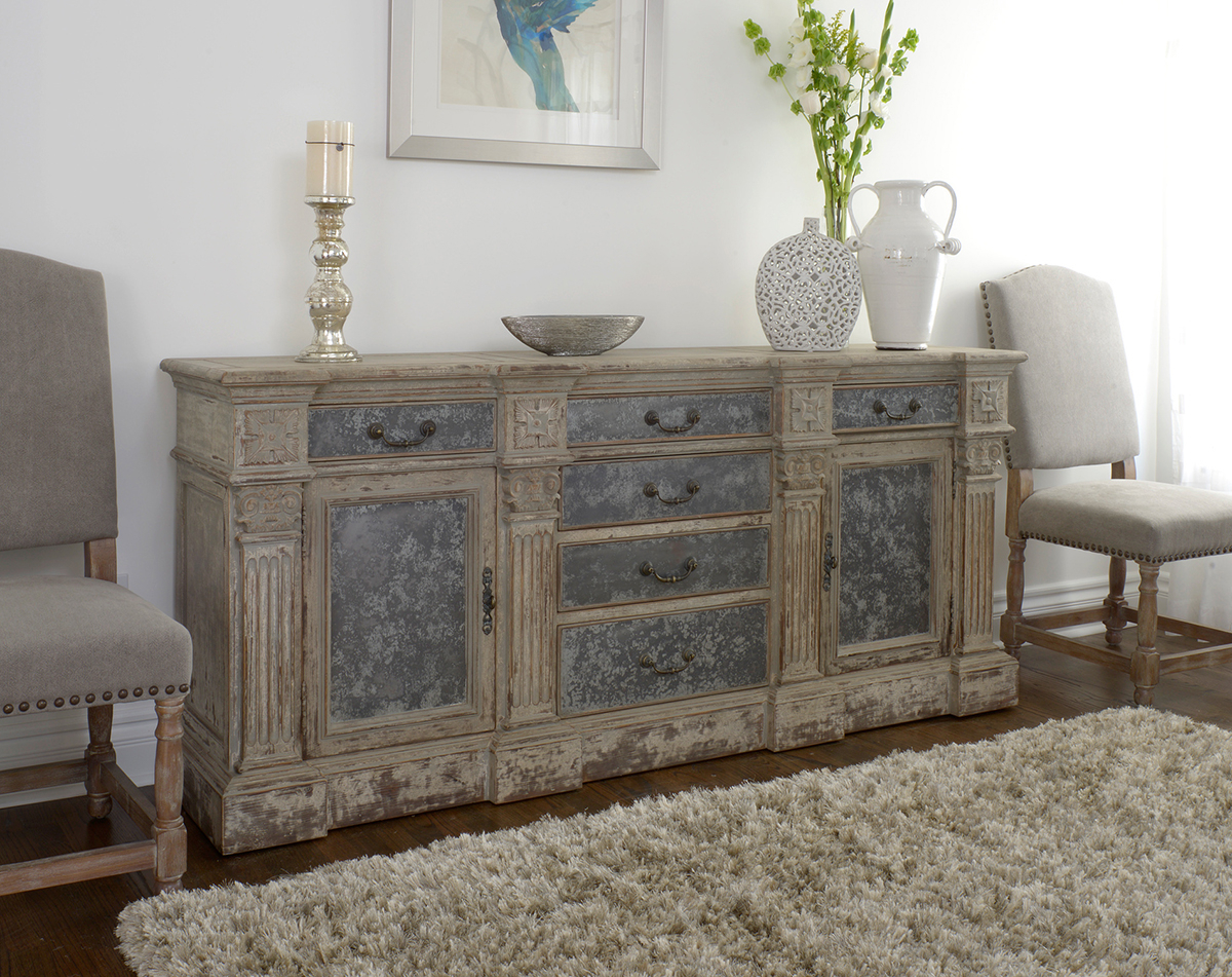 Well Known Wood Distressed Sideboard : Rocket Uncle – Easy Diy Distressed Sideboard With White Wash 4 Door Sideboards (View 18 of 20)