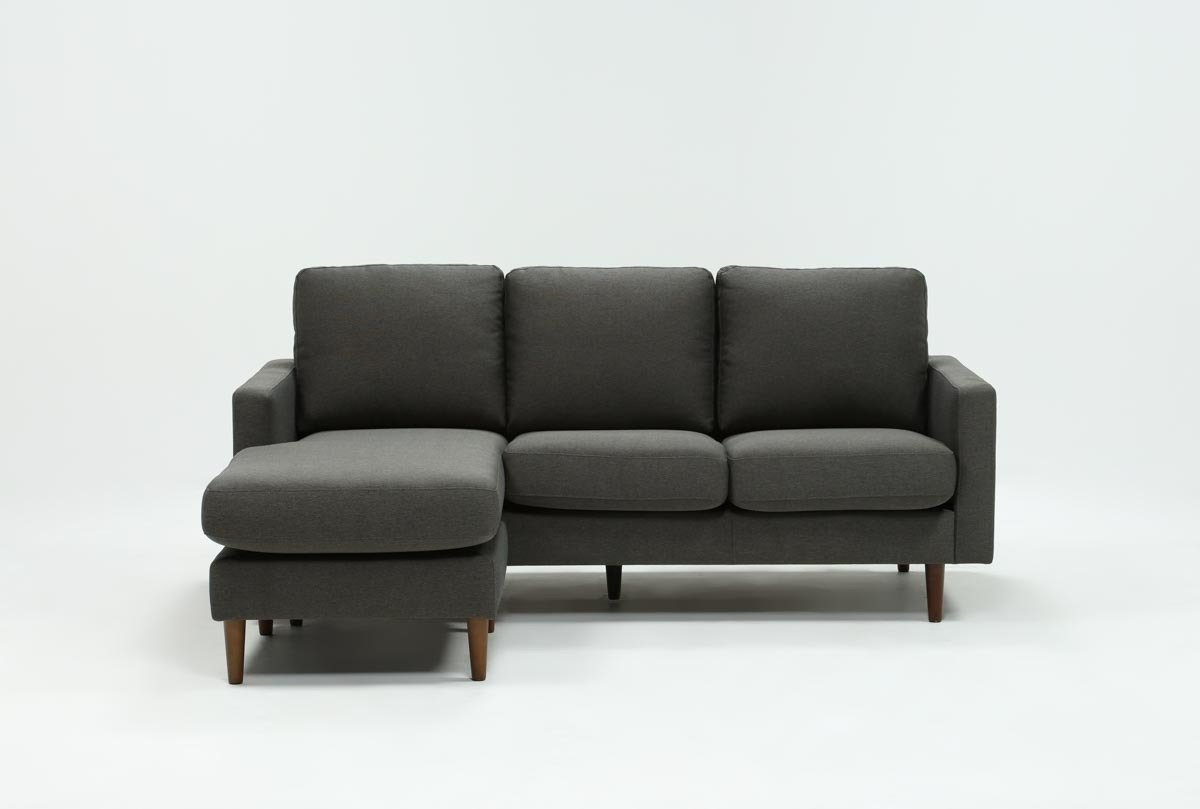 Well Liked David Dark Grey Reversible Sofa Chaise (View 6 of 20)