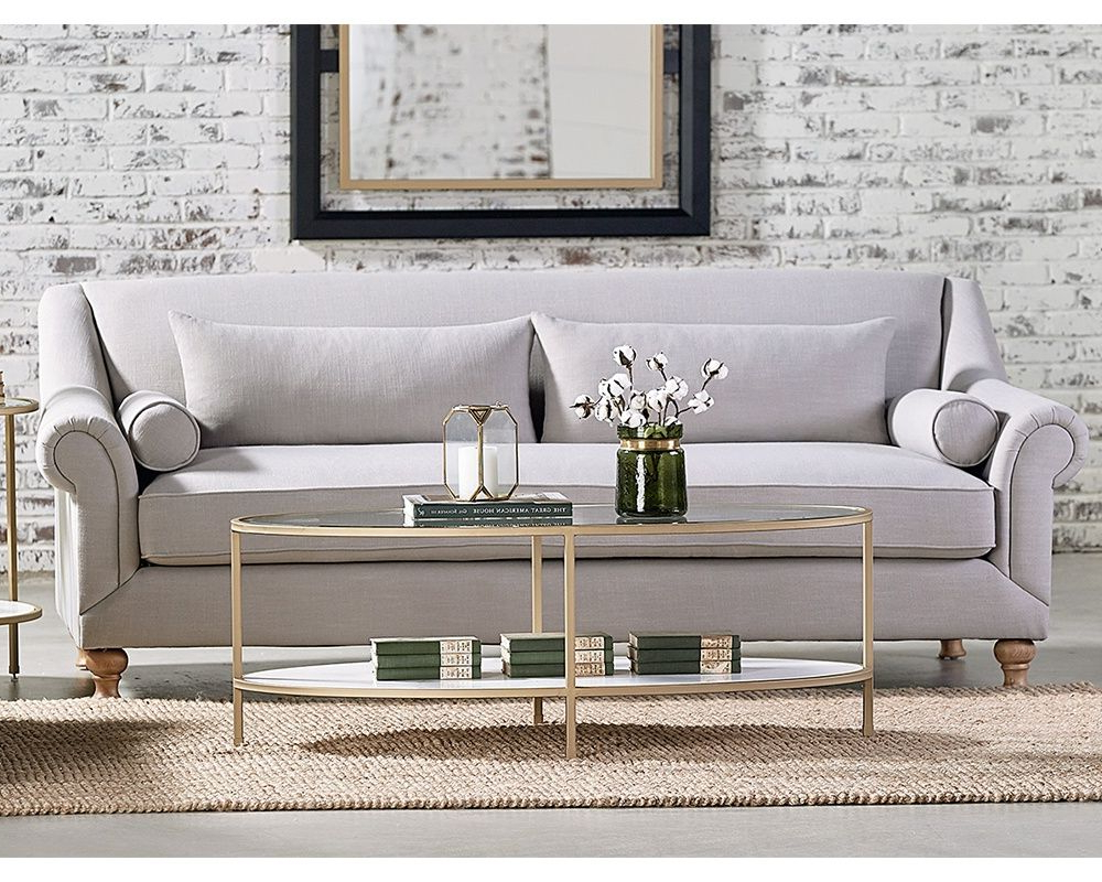 Well Liked Ellipse Coffee Table – Magnolia Home (View 3 of 20)