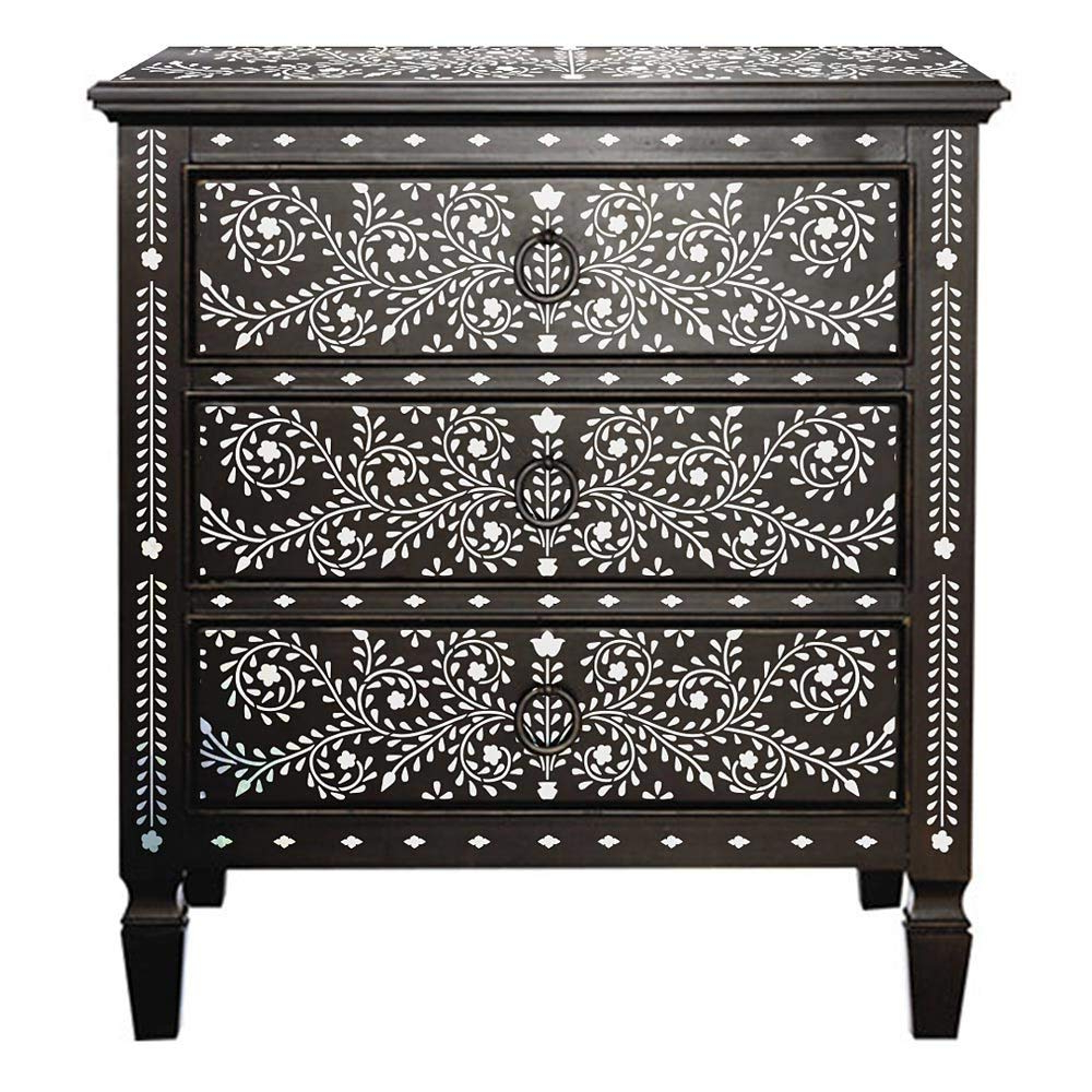 Well Liked Geo Pattern Black And White Bone Inlay Sideboards Within Cheap Blue Bone Inlay Furniture, Find Blue Bone Inlay Furniture (Gallery 18 of 20)