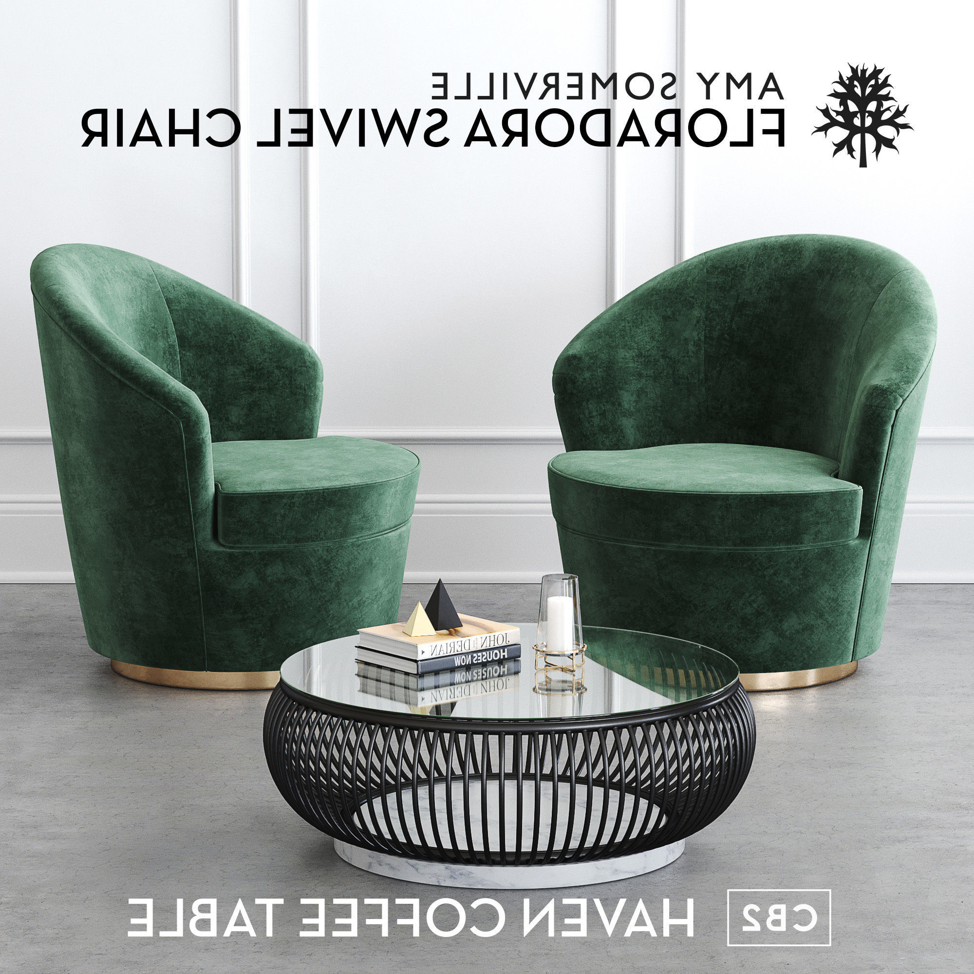 Well Liked Haven Coffee Tables For Floradora Swivel Chair With Cb2 Haven Coffee Table 3d (View 18 of 20)
