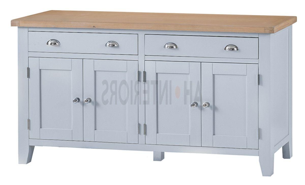 Well Liked Kettle Interiors Tt Extra Large 4 Door Sideboard Regarding 3 Drawer/2 Door White Wash Sideboards (View 5 of 20)