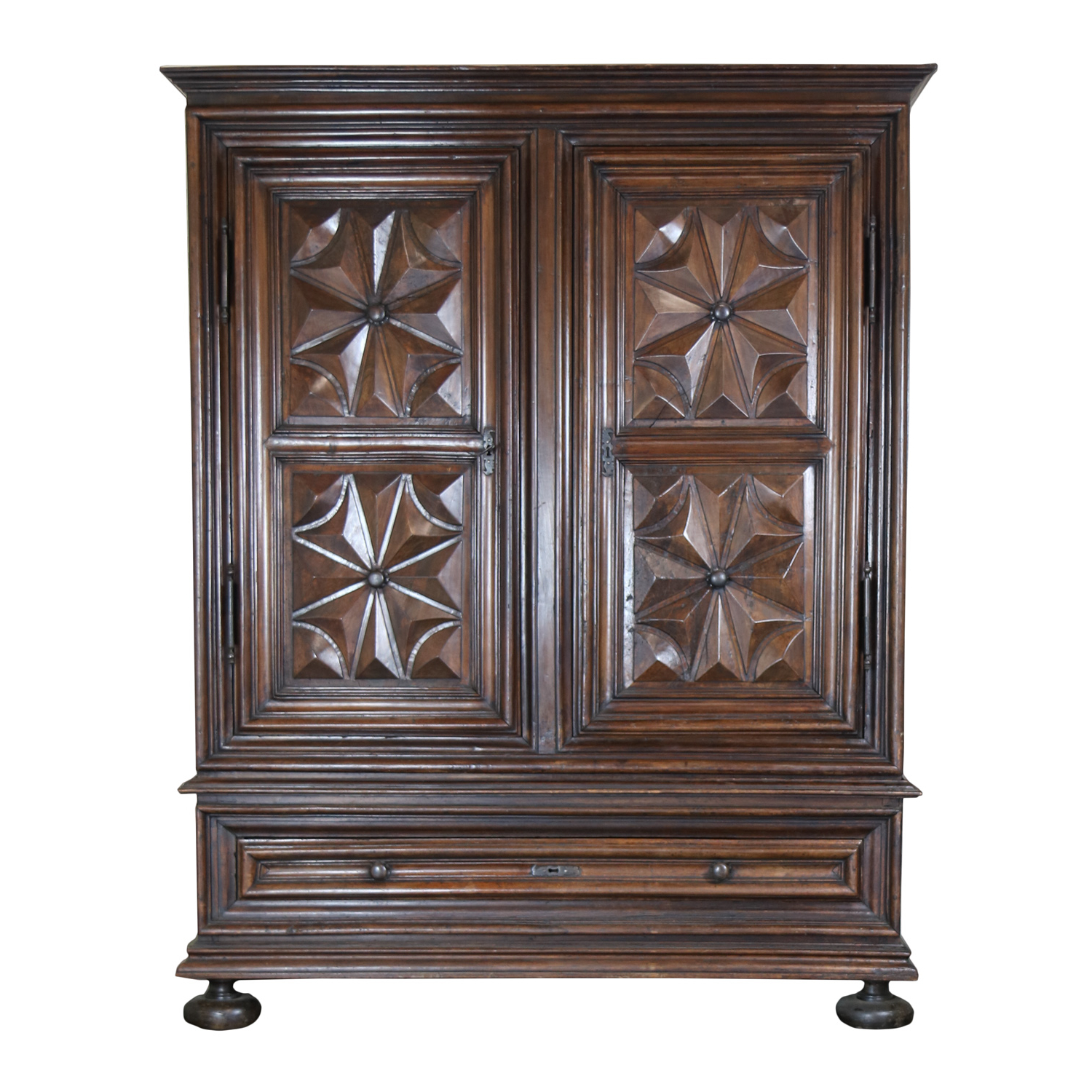 Well Liked Louis Xiii Period Carved Walnut Armoire (View 19 of 20)