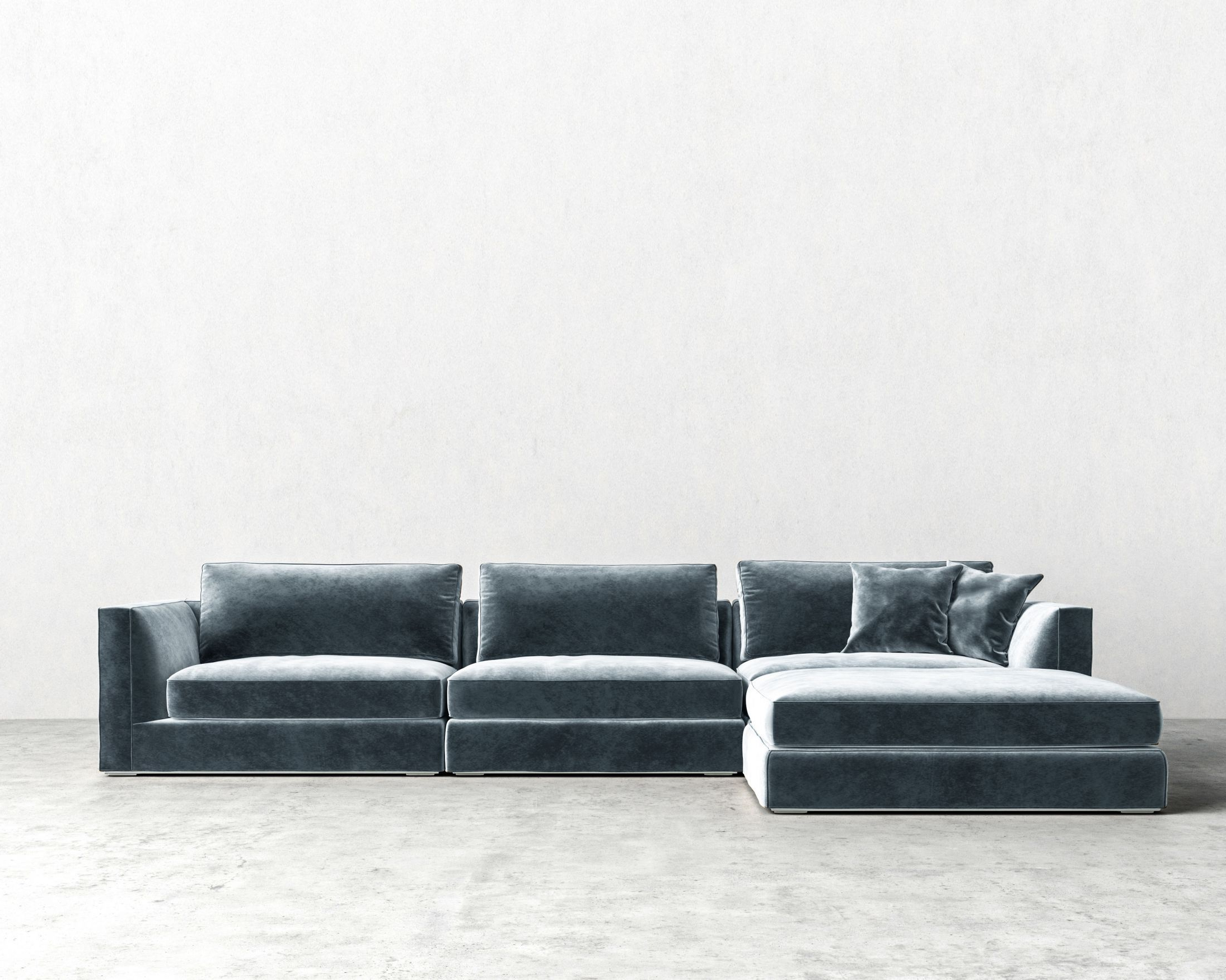 Well Liked Nico Grey Sectionals With Left Facing Storage Chaise For Milo Modular Sectional (View 19 of 20)