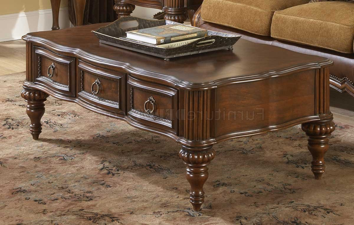 Well Liked Prenzo Coffee Tablehomelegance Regarding Traditional Coffee Tables (Gallery 16 of 20)
