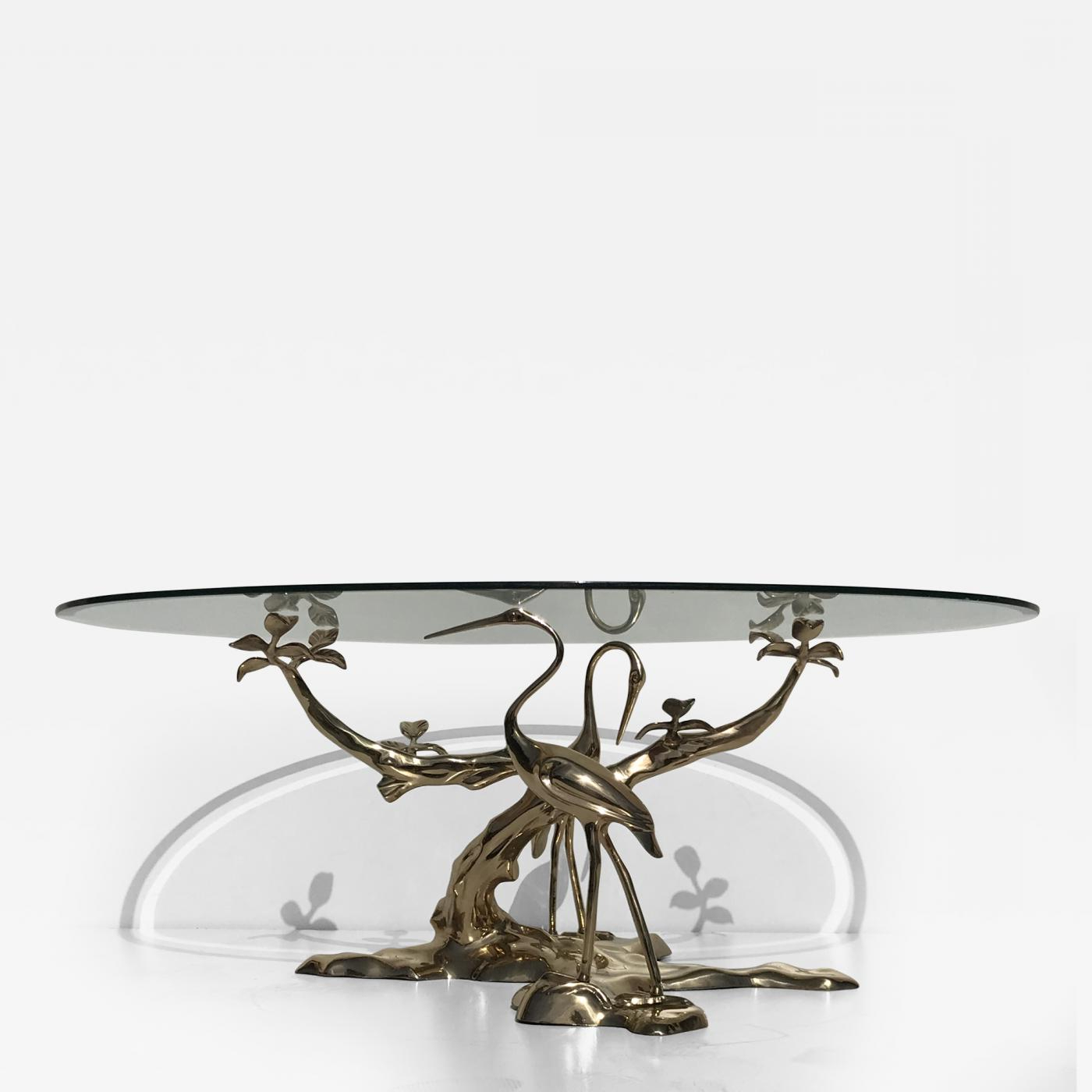 Well Liked Willy Daro – Willy Daro Brass Tree Coffee Table For Cacti Brass Coffee Tables (Gallery 9 of 20)
