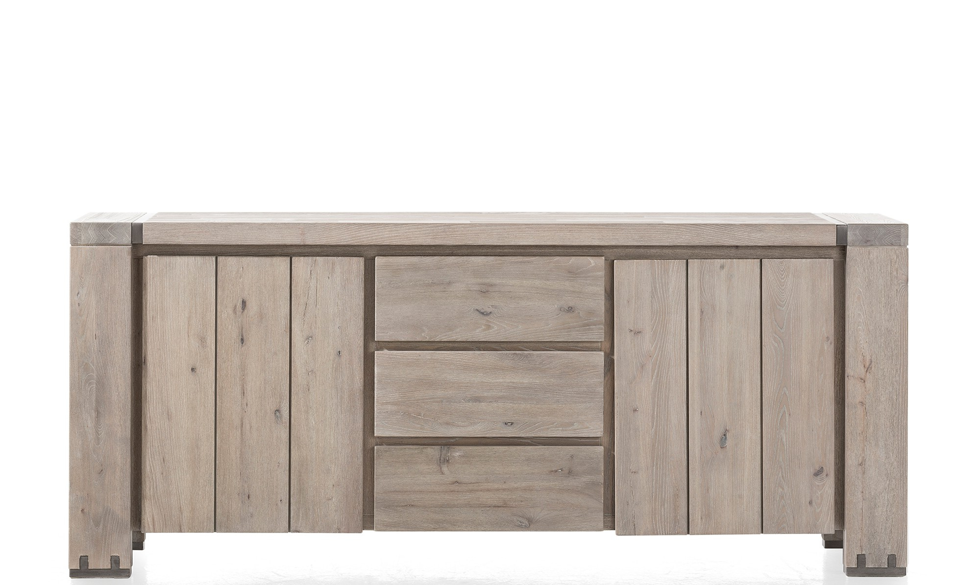 White Wash 2 Door Sideboards Intended For Recent Sideboards – Modern, Oak & Pine Sideboards – Fishpools (View 14 of 20)