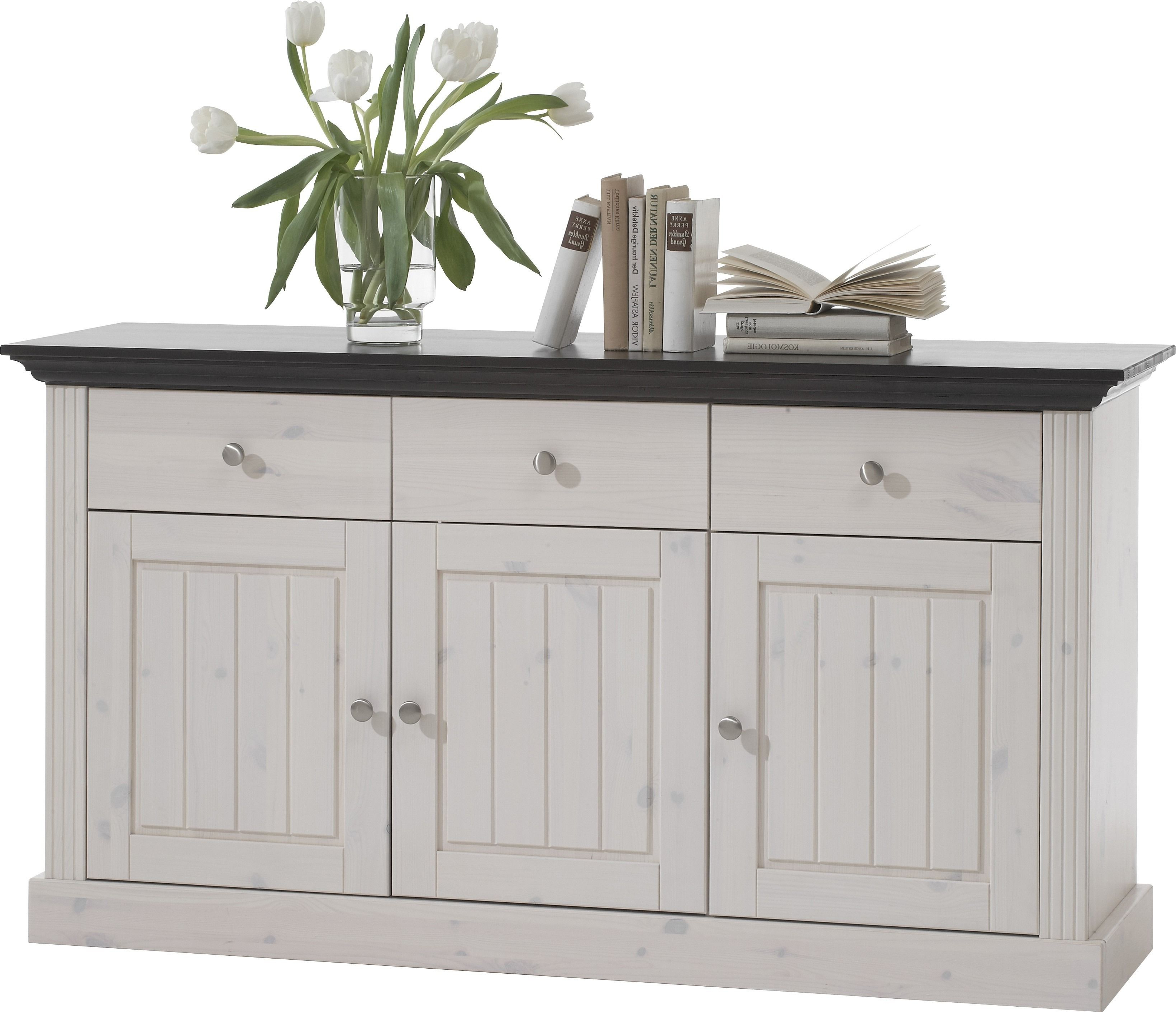 White Wash 3 Door 3 Drawer Sideboards With Regard To Widely Used Steens Monaco 3 Door 3 Drawer Sideboard In Whitewash – The Monaco (View 20 of 20)