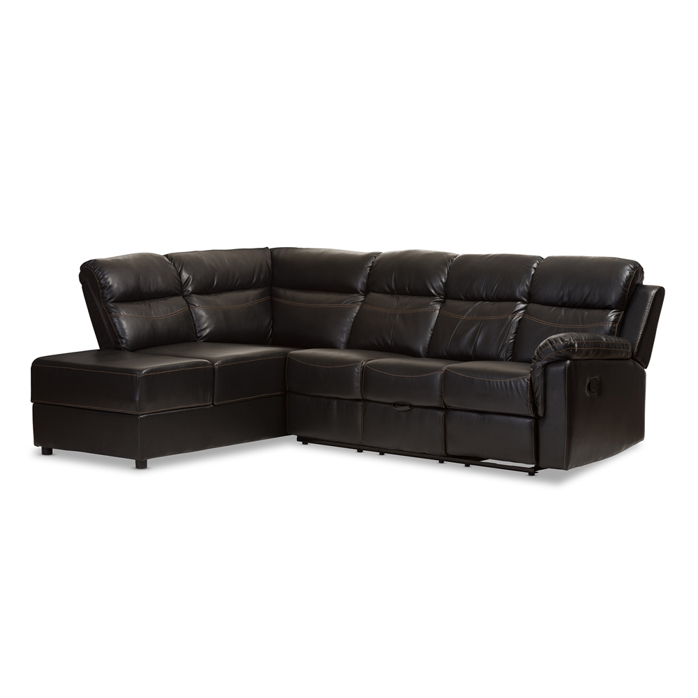 Whole Sofa Set Living Room Furniture Black Piece Sectional Couch With Well Known Delano 2 Piece Sectionals With Laf Oversized Chaise (View 20 of 20)