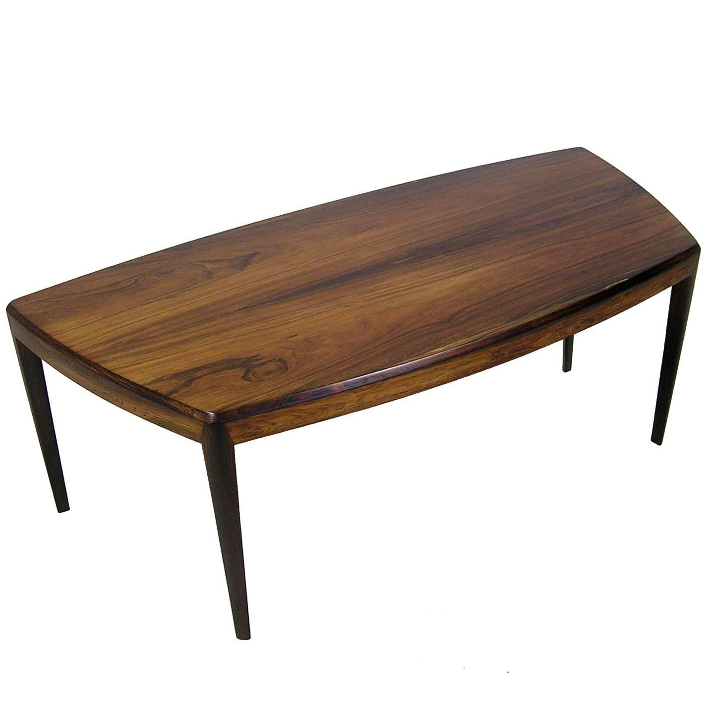 Widely Used 1960S Brazilian Rosewood Coffee Tablekai Kristiansen, Denmark Intended For Kai Large Cocktail Tables (Gallery 4 of 20)