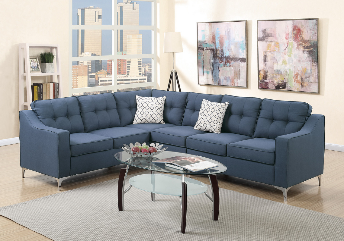 Widely Used Aidan 4 Piece Sectionals For Aidan 4 Piece Contemporary Sectional (View 3 of 20)
