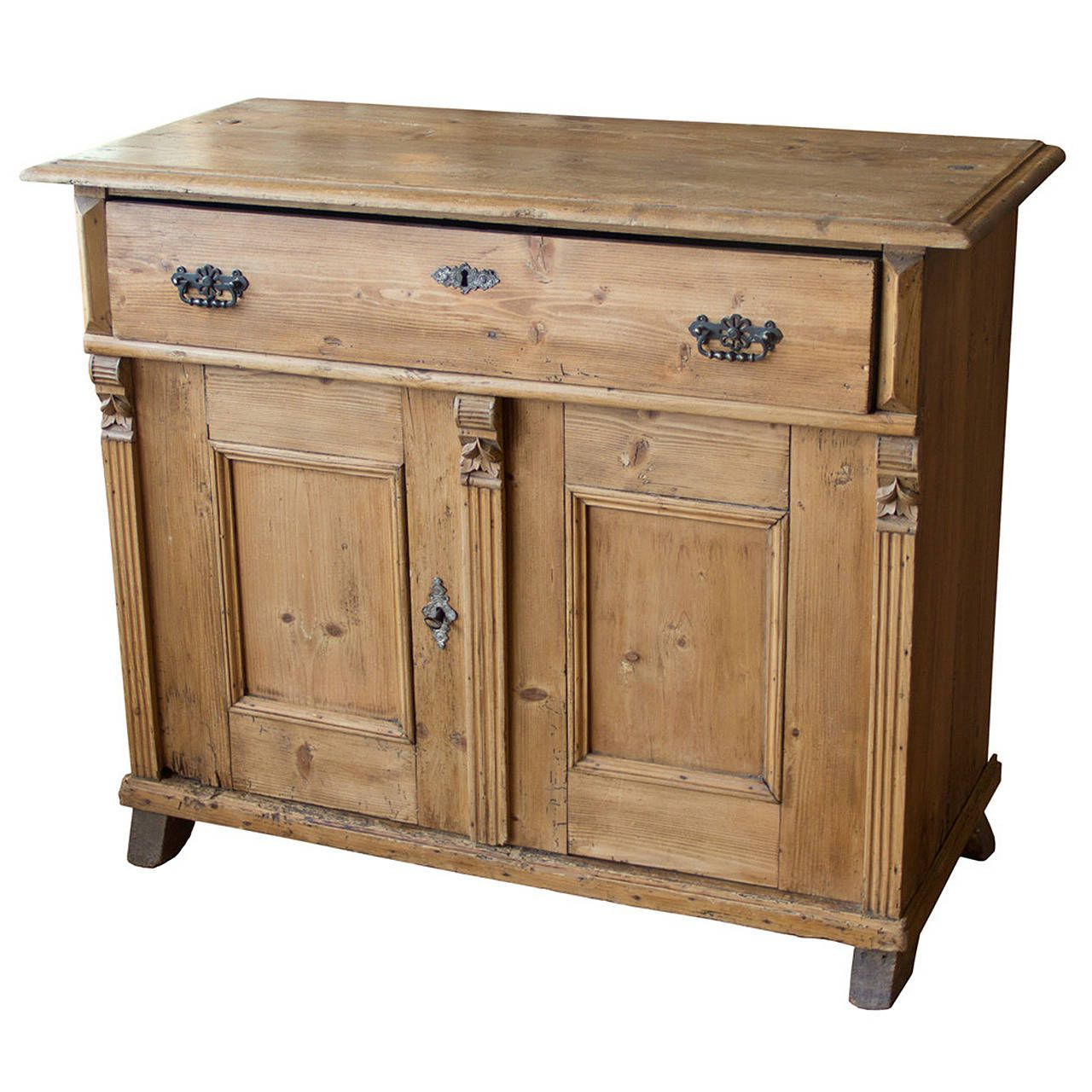 Widely Used Antique English Pine Cupboard In (View 7 of 20)