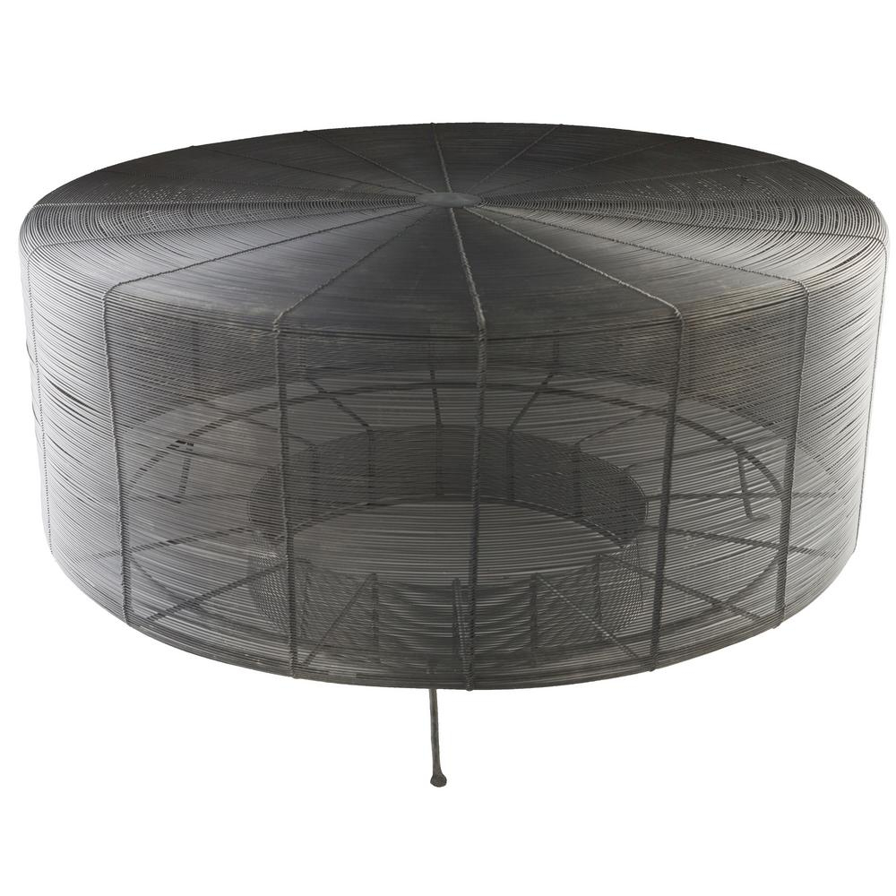Widely Used Artistic Weavers Aende 30 In. Black Centre Table S00161005931 – The Inside Weaver Dark Rectangle Cocktail Tables (Gallery 3 of 20)