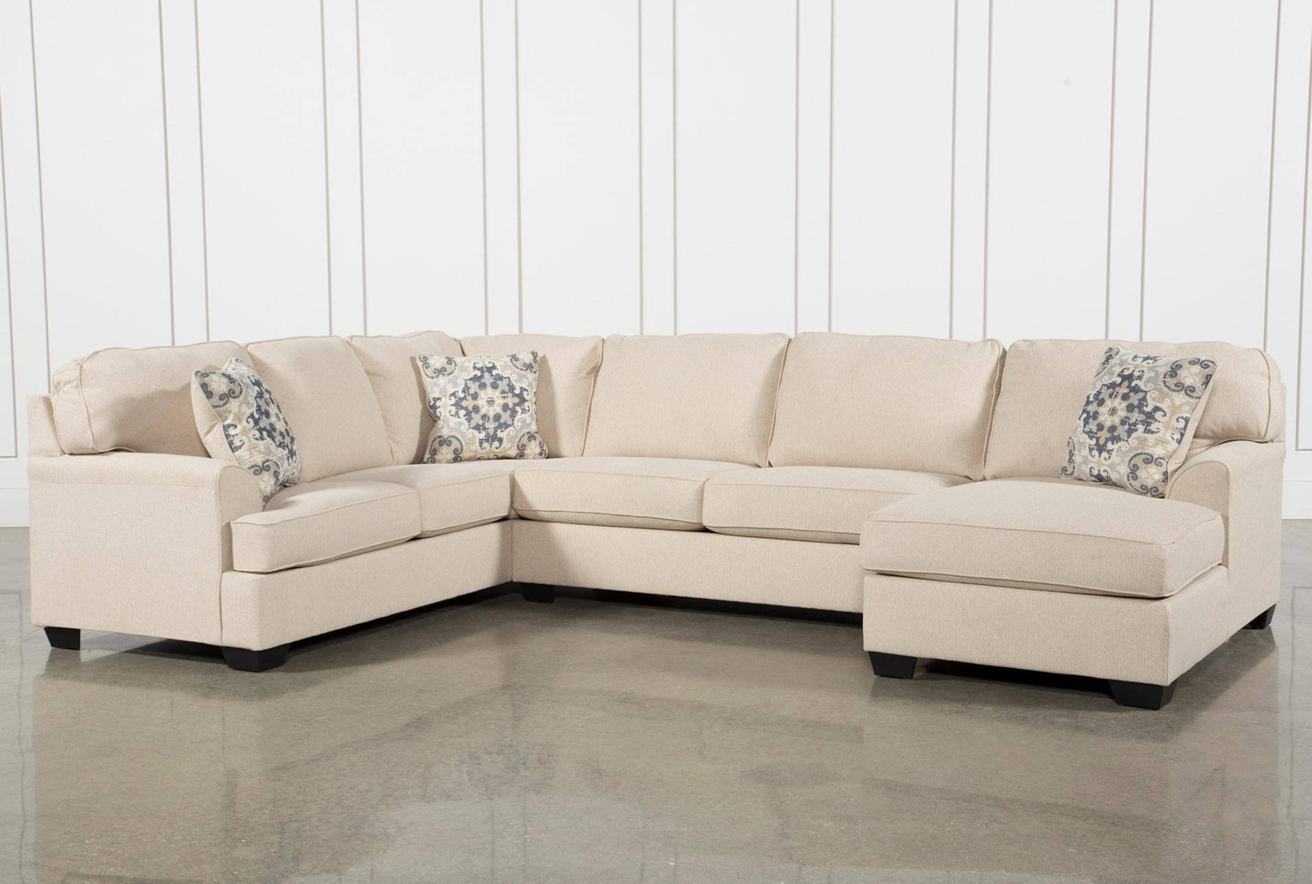 Widely Used Evan 2 Piece Sectionals With Raf Chaise Inside 3 Piece Sectional – Locsbyhelenelorasa (View 19 of 20)