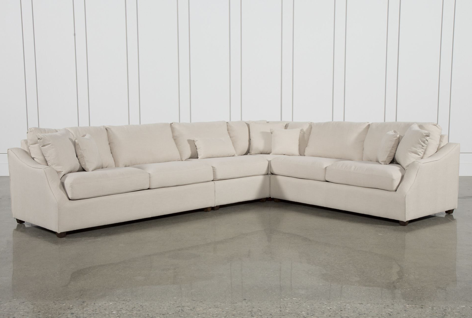 Widely Used Harper Down 3 Piece Sectionals Throughout Magnolia Home Homestead 4 Piece Sectionaljoanna Gaines (View 7 of 20)