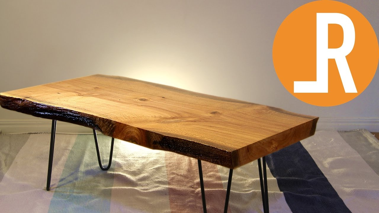 Widely Used Live Edge Table (View 19 of 20)