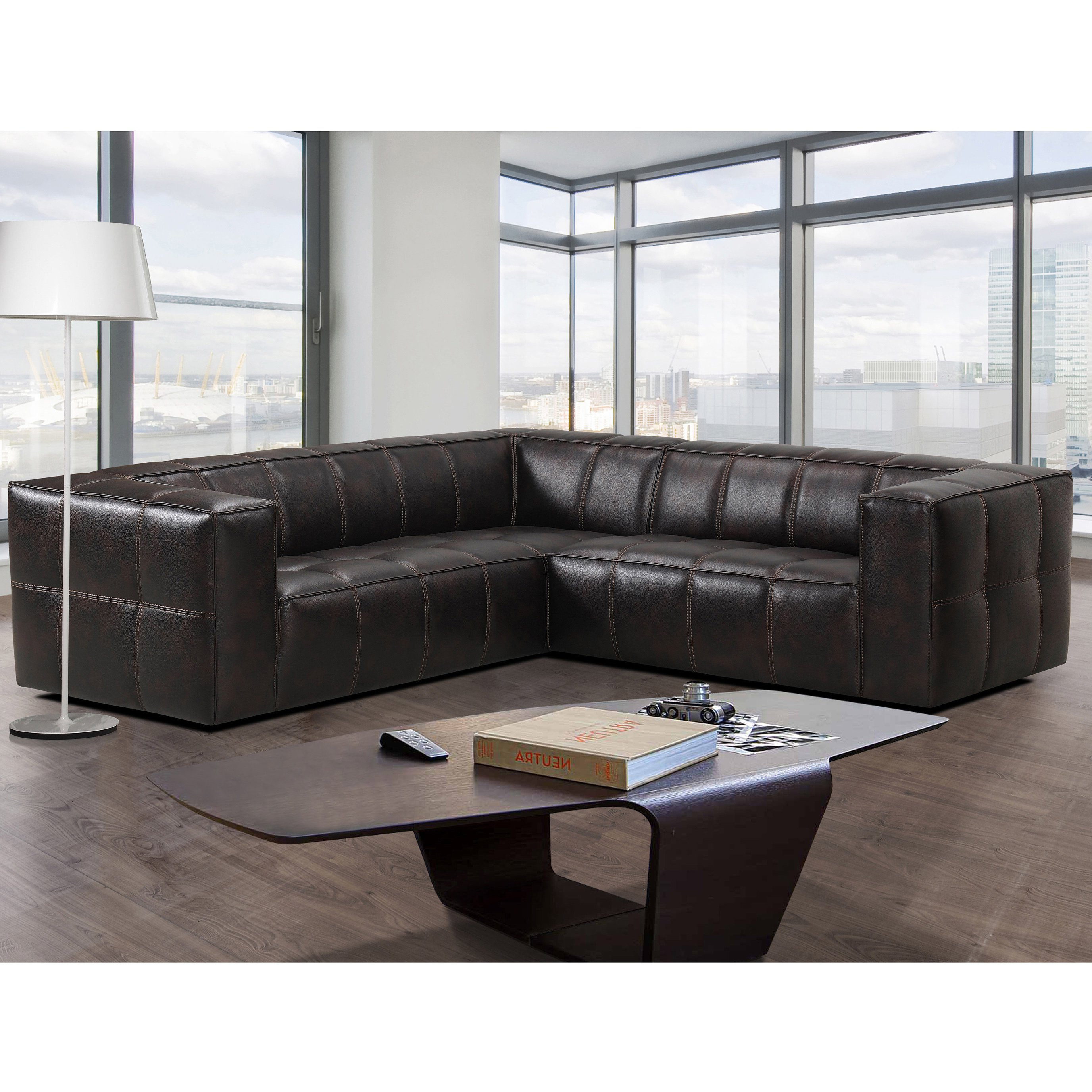 Widely Used Mesa Foam 2 Piece Sectionals Regarding Shop Athens Memory Foam Sectional Sofa – Free Shipping Today (View 20 of 20)