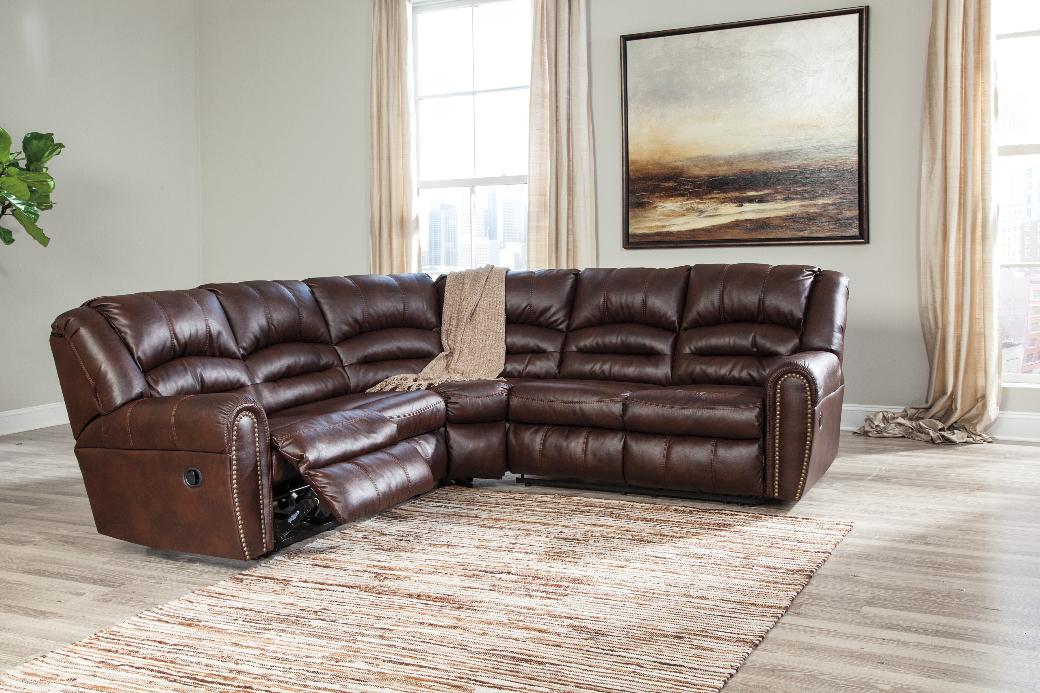 Widely Used Sectionals Intended For Aurora 2 Piece Sectionals (View 20 of 20)
