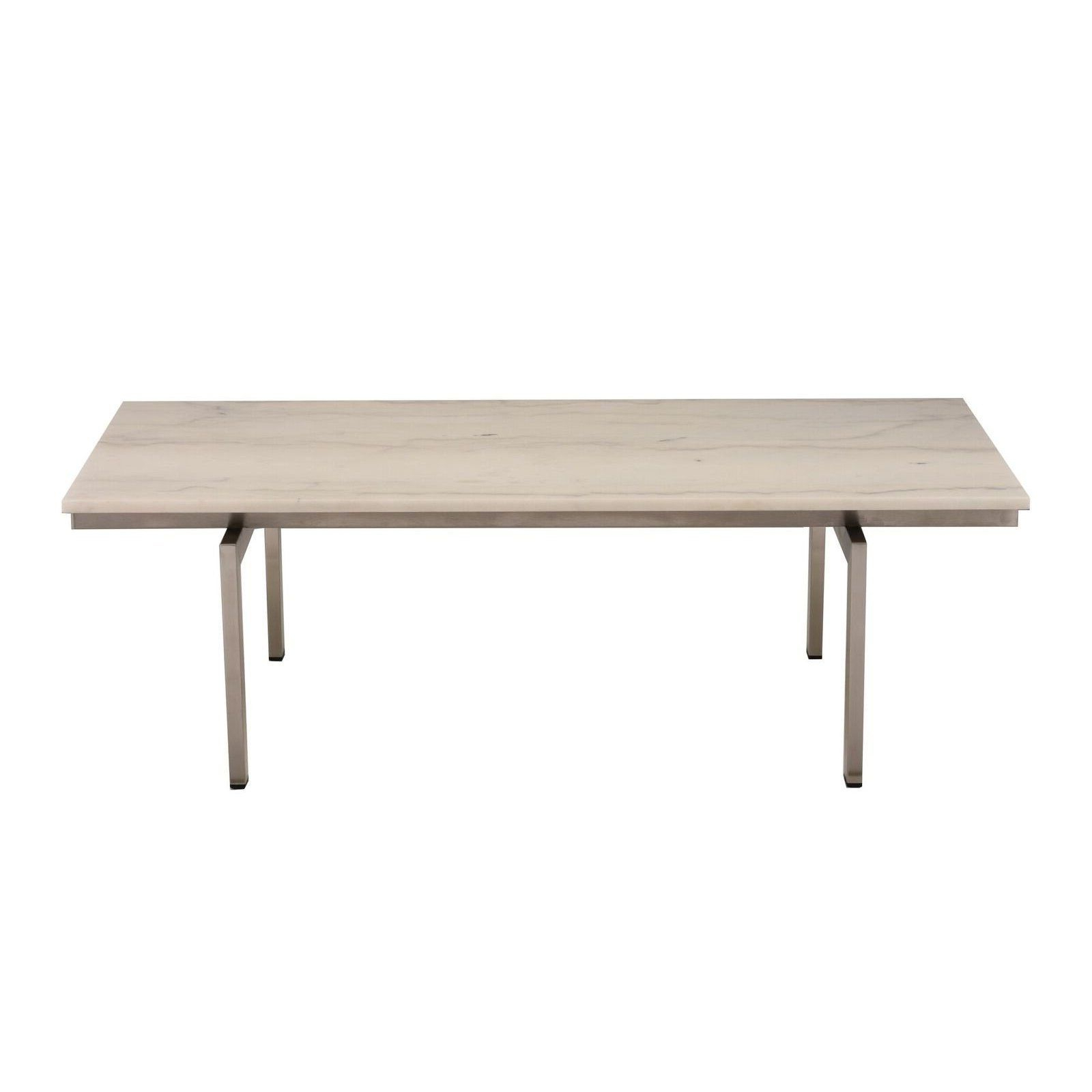 Widely Used Slab Small Marble Coffee Table With Antiqued Silver Base For Large Slab Marble Coffee Tables With Antiqued Silver Base (View 11 of 20)