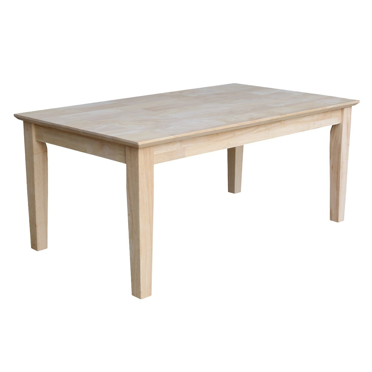 Widely Used Swell Round Coffee Tables With Shop Shaker Unfinished Solid Parawood Tall Coffee Table – Free (View 15 of 20)