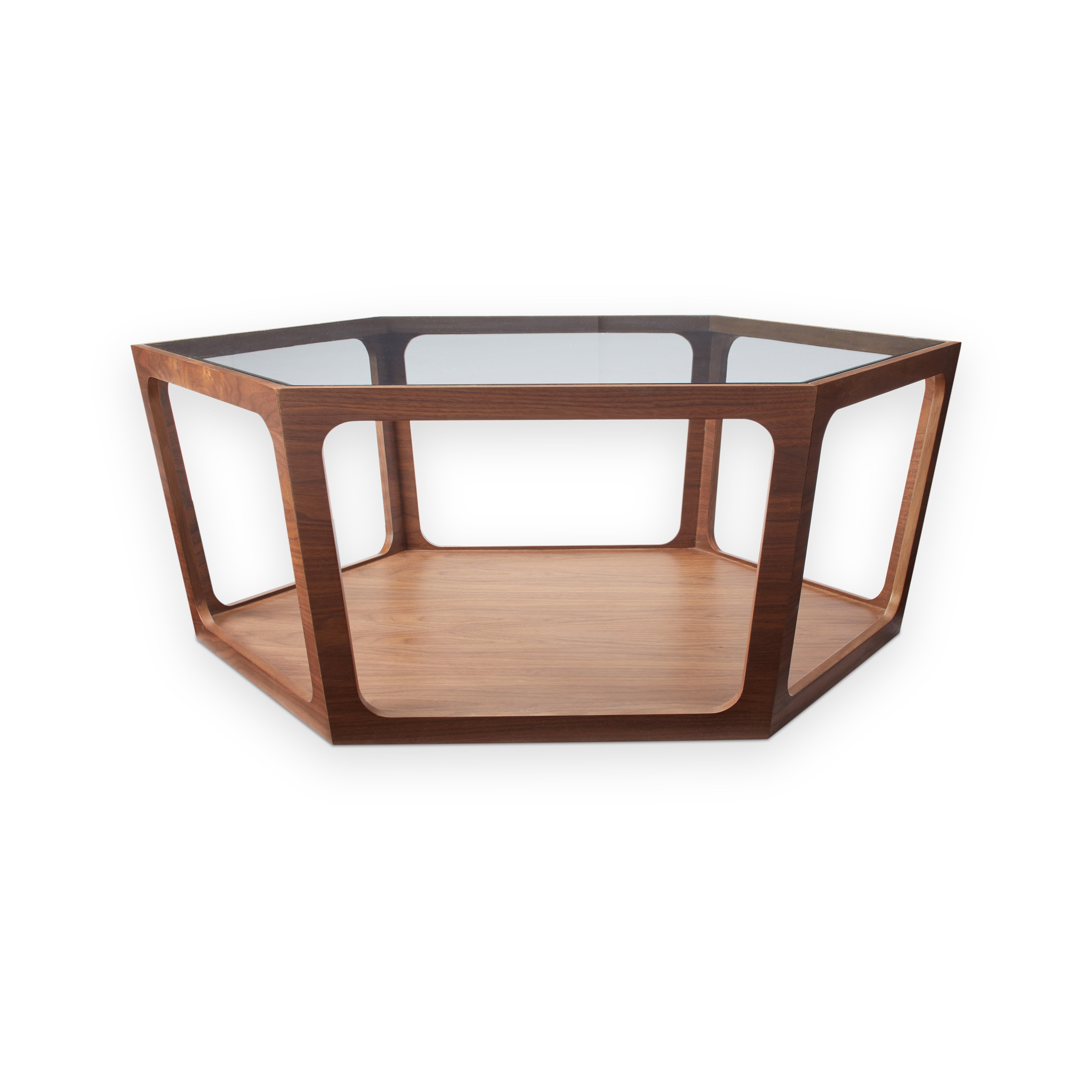 Widely Used Verona Cocktail Tables Inside Shop Abbyson Verona Walnut Coffee Table – On Sale – Free Shipping (Gallery 13 of 20)