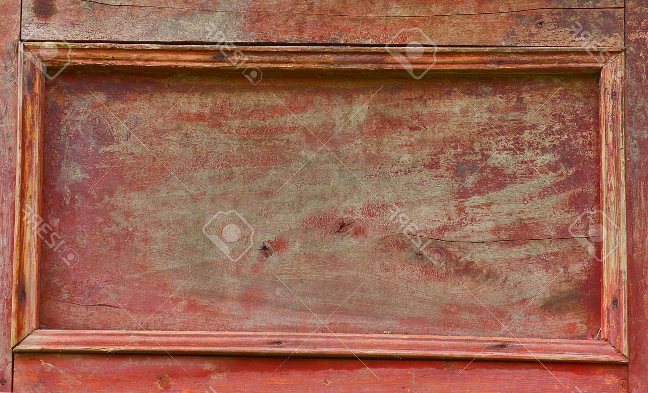 Widely Used Vintage Red Wood Sideboard Door Stock Photo, Picture And Royalty Inside Vintage Brown Textured Sideboards (Gallery 20 of 20)