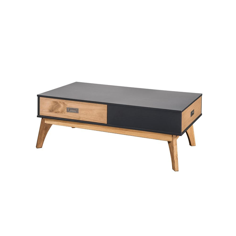 Widely Used White Wash 2 Drawer/1 Door Coffee Tables Intended For Rectangle – Coffee Table – Coffee Tables – Accent Tables – The Home (View 20 of 20)