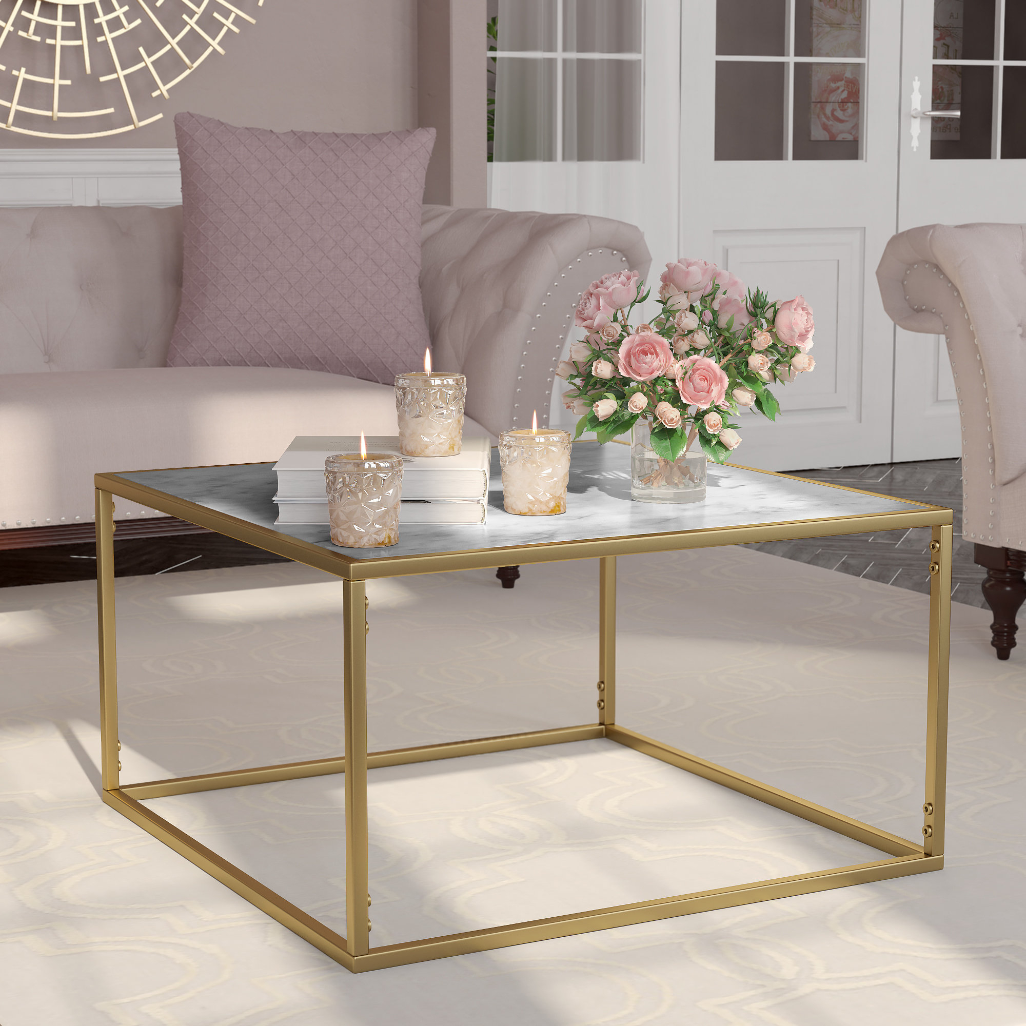 Willa Arlo Interiors Theydon Coffee Table & Reviews (View 10 of 20)