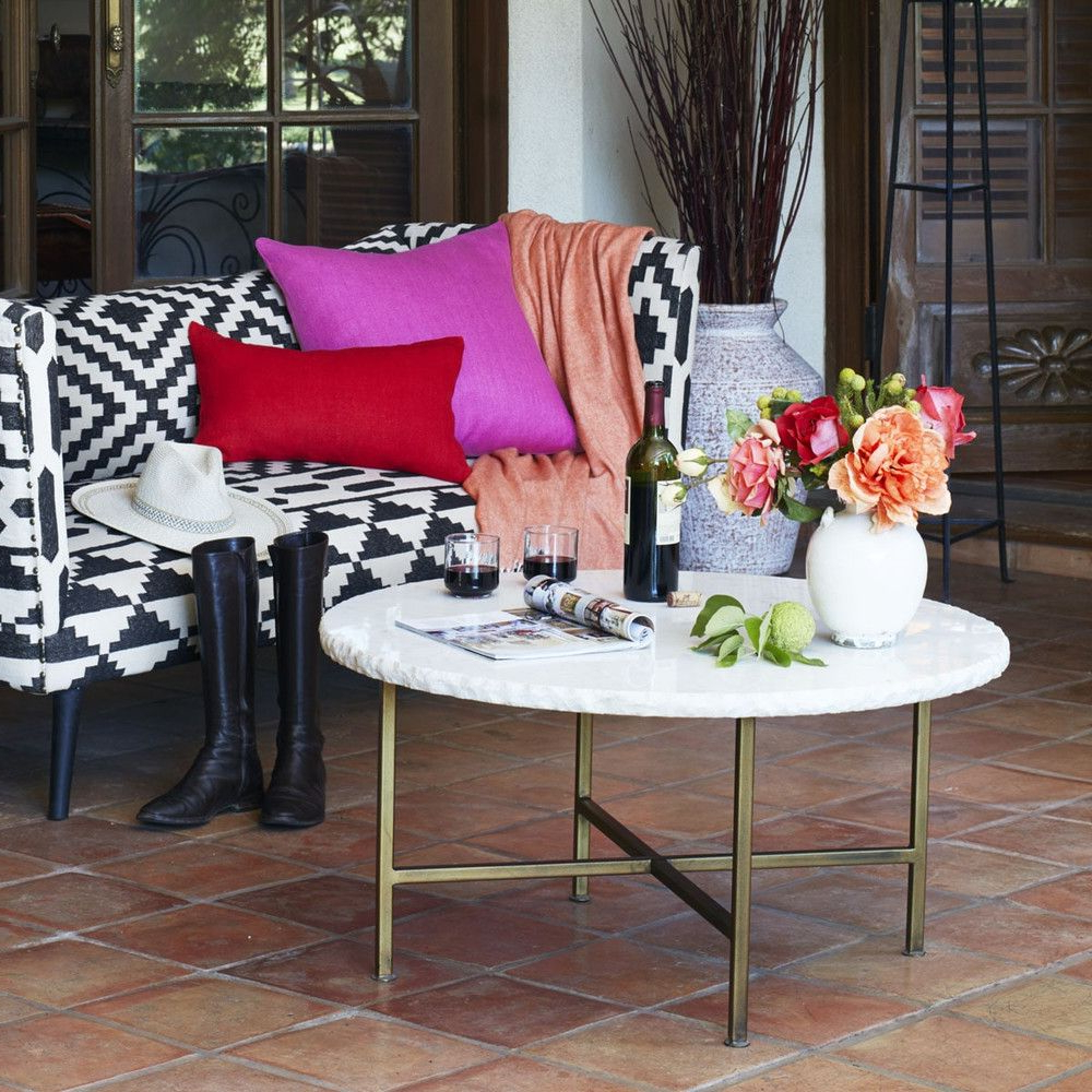 Wisteria, Coffee And Marble Top Within Chiseled Edge Coffee Tables (View 4 of 20)