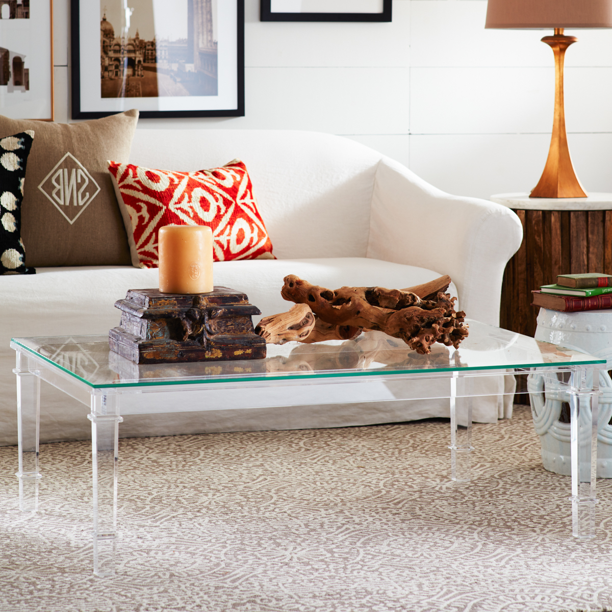 Wisteria Pertaining To 2019 Stately Acrylic Coffee Tables (View 20 of 20)