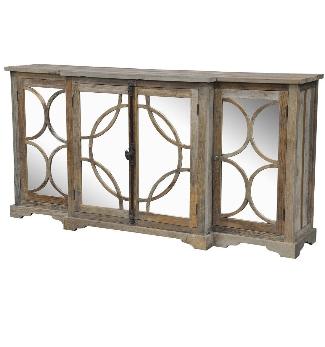 Wood And Mirrored Sideboard (View 20 of 20)