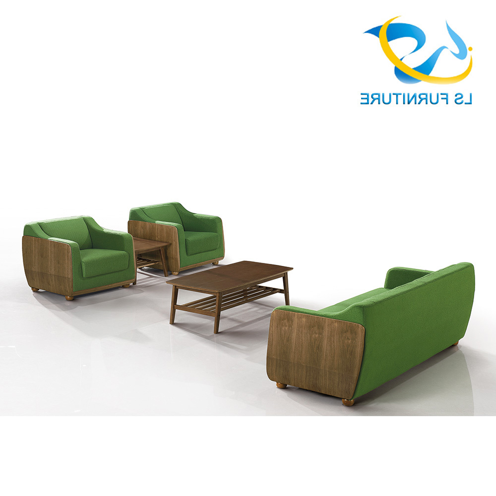 2017 Modern Dubai Office Sofa Furniture Pictures Wooden Sofa With Well Known Office Sofa Chairs (View 15 of 20)