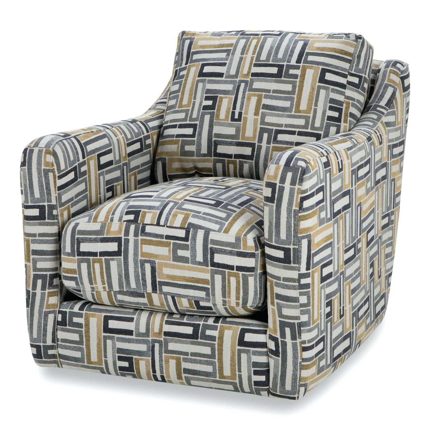 2018 Circuit Swivel Accent Chair Living Spaces Swivel Accent Chair Swivel With Regard To Circuit Swivel Accent Chairs (Gallery 3 of 20)