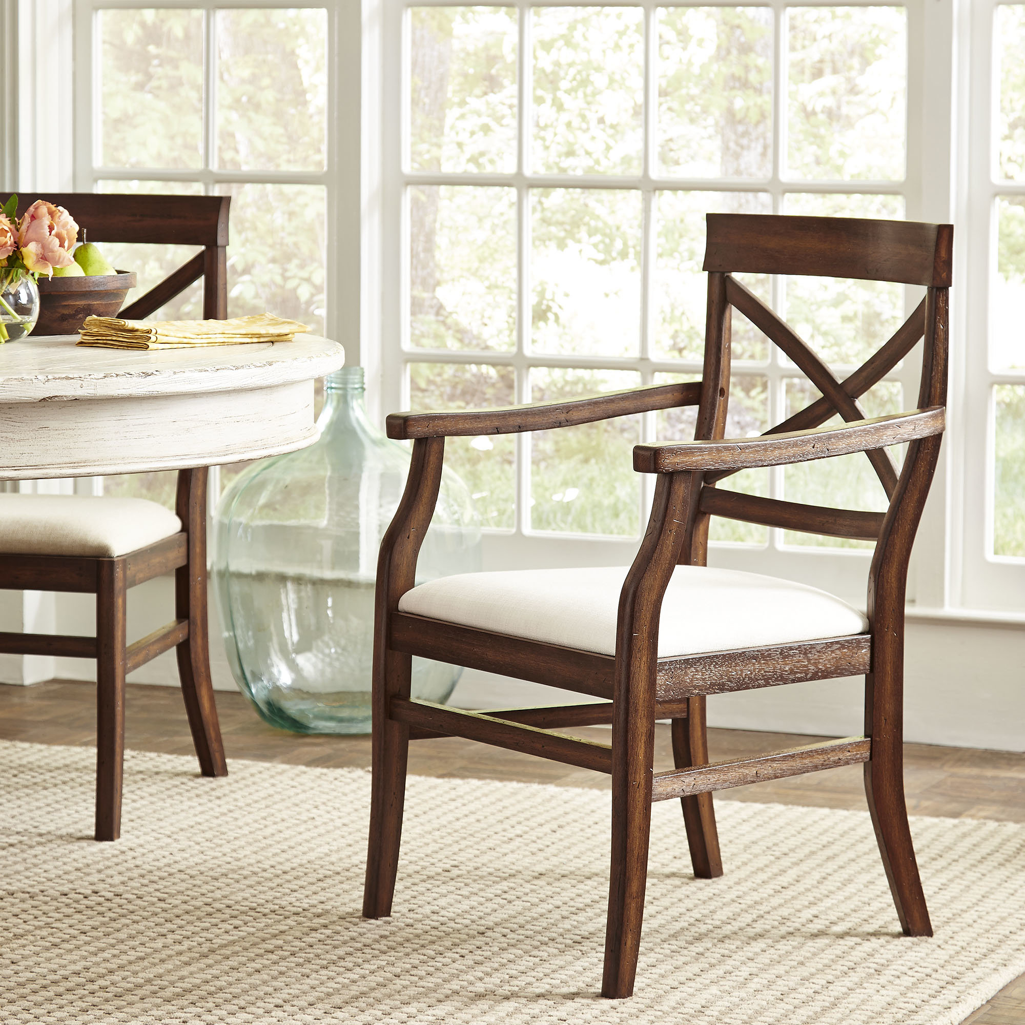 2018 Mansfield Beige Linen Sofa Chairs With Regard To Birch Lane™ Heritage Mansfield Arm Chair & Reviews (View 15 of 20)