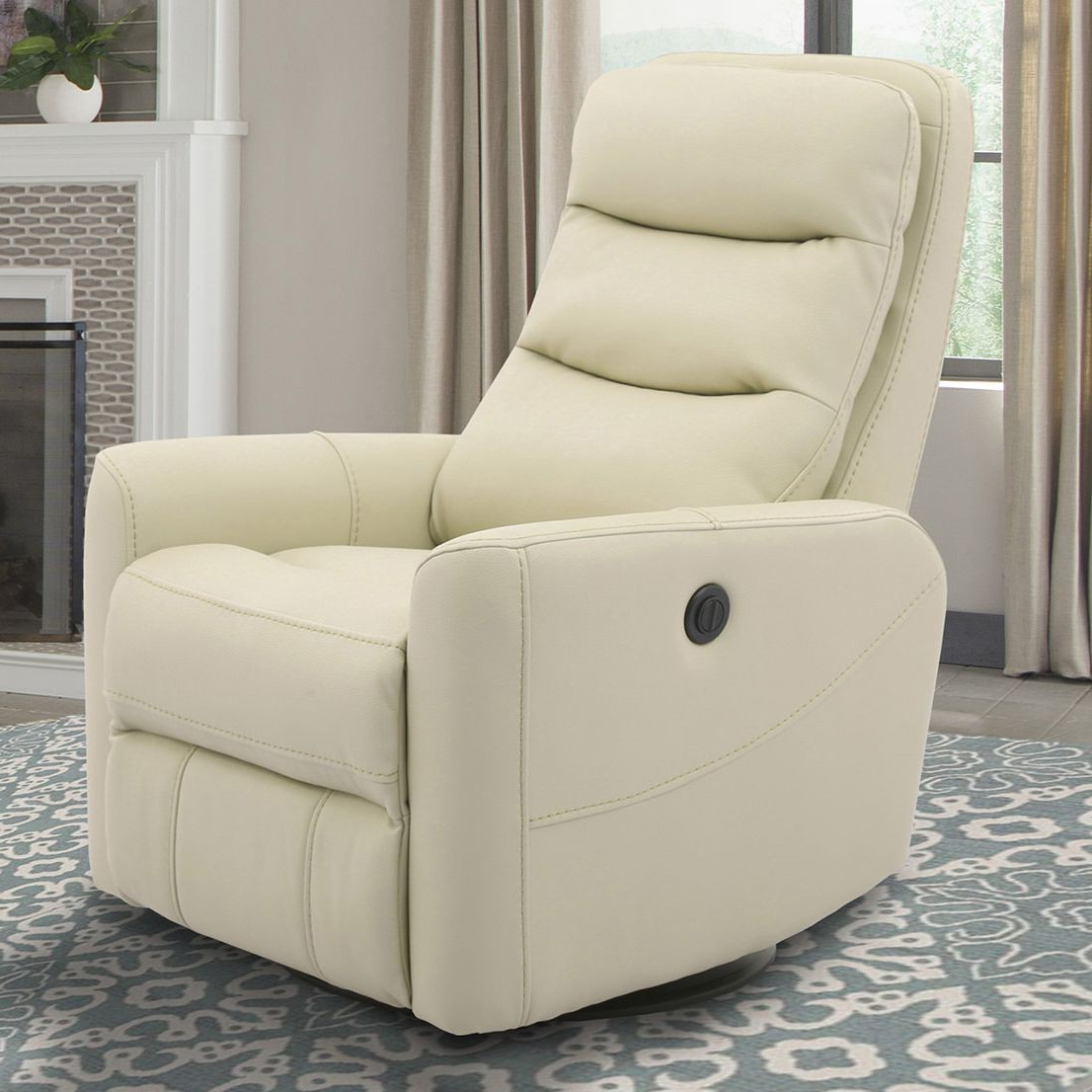 2018 Parker Living Hercules Anywhere Power Swivel Recliner In Oyster Pertaining To Hercules Oyster Swivel Glider Recliners (View 1 of 20)