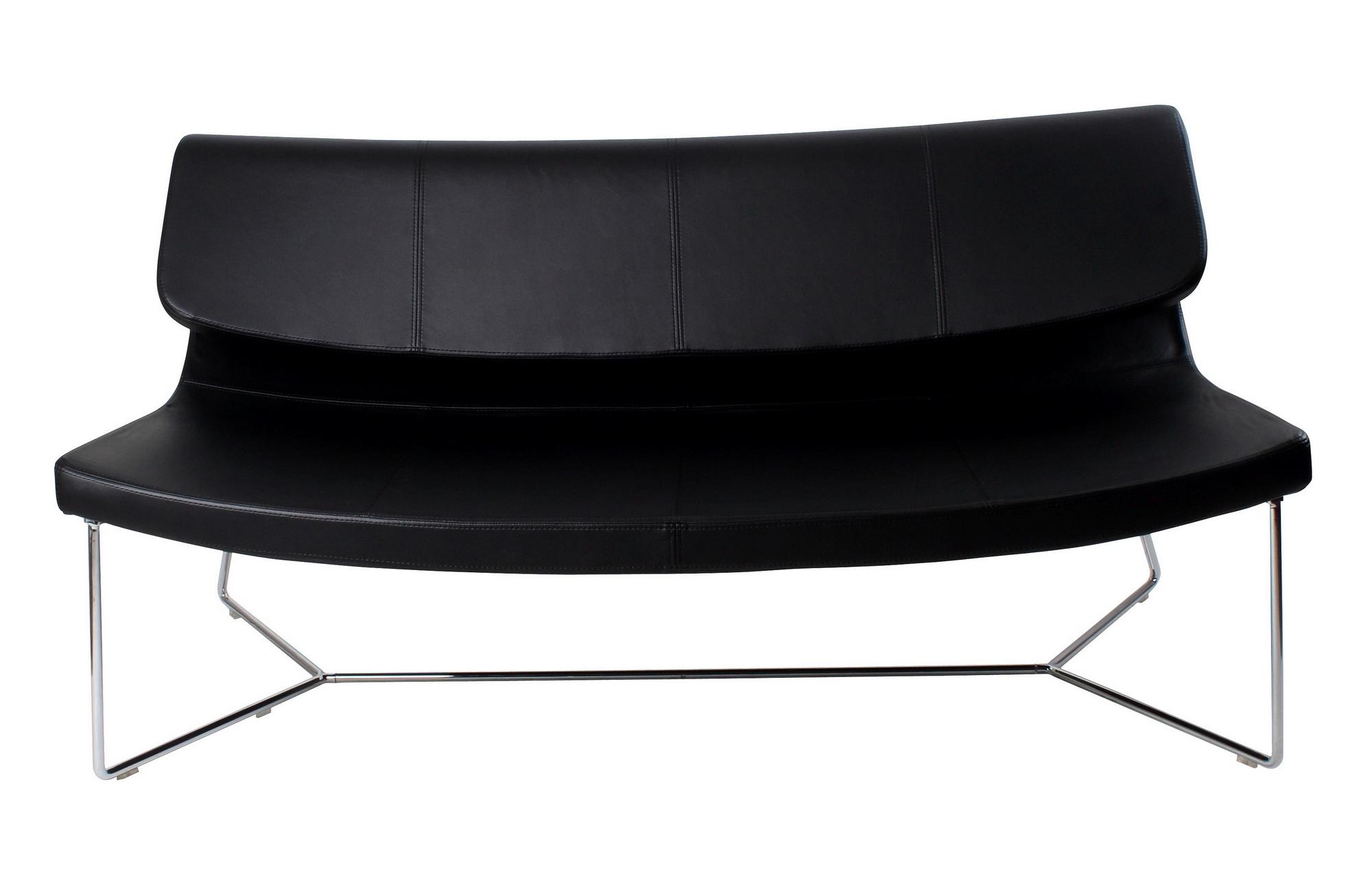 2019 Brennan Sofa Black Leatherette With Brennan Sofa Chairs (View 19 of 20)