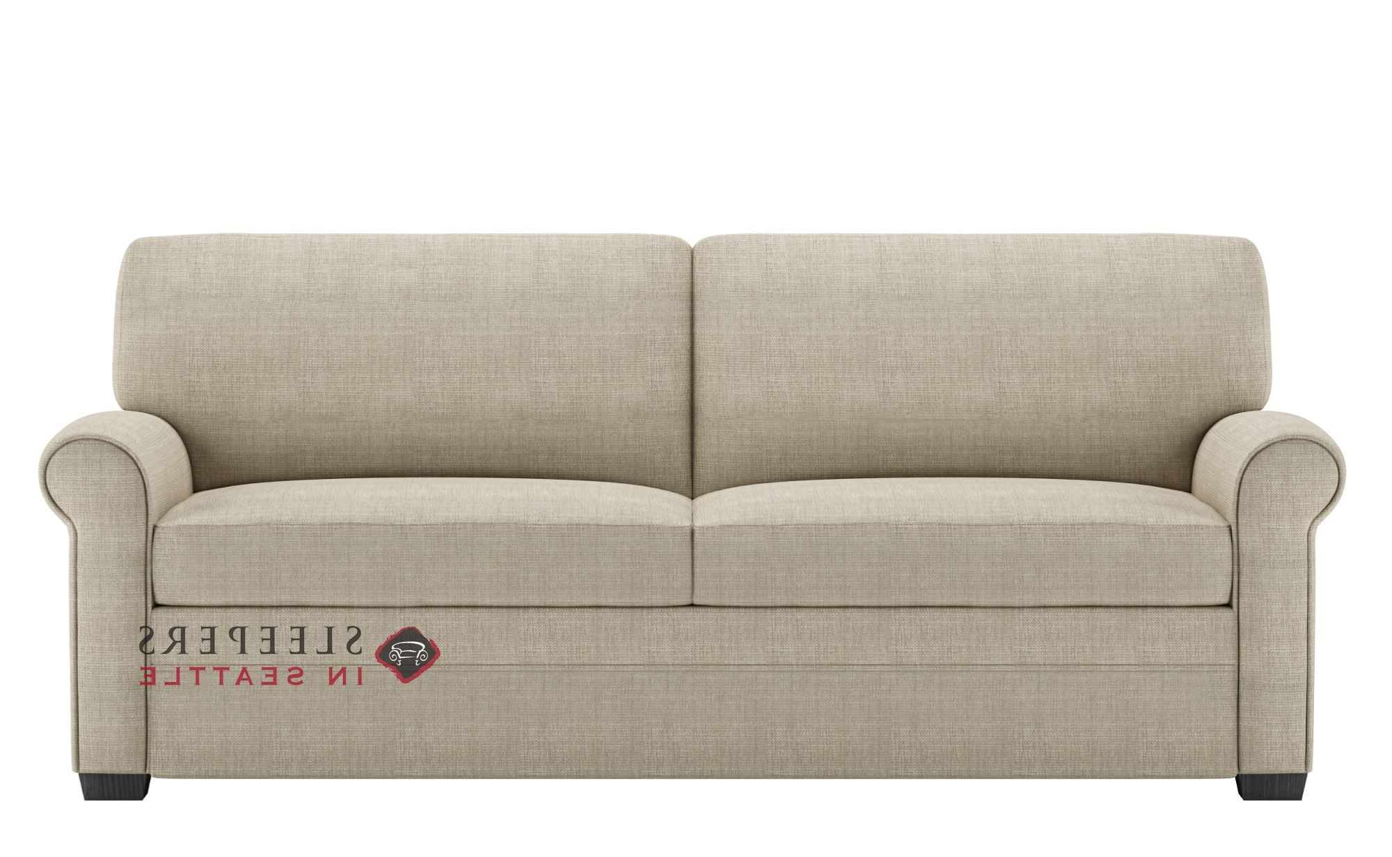 2019 Customize And Personalize Gaines Multiple Sizes Available Fabric With Regard To Gina Grey Leather Sofa Chairs (View 2 of 20)