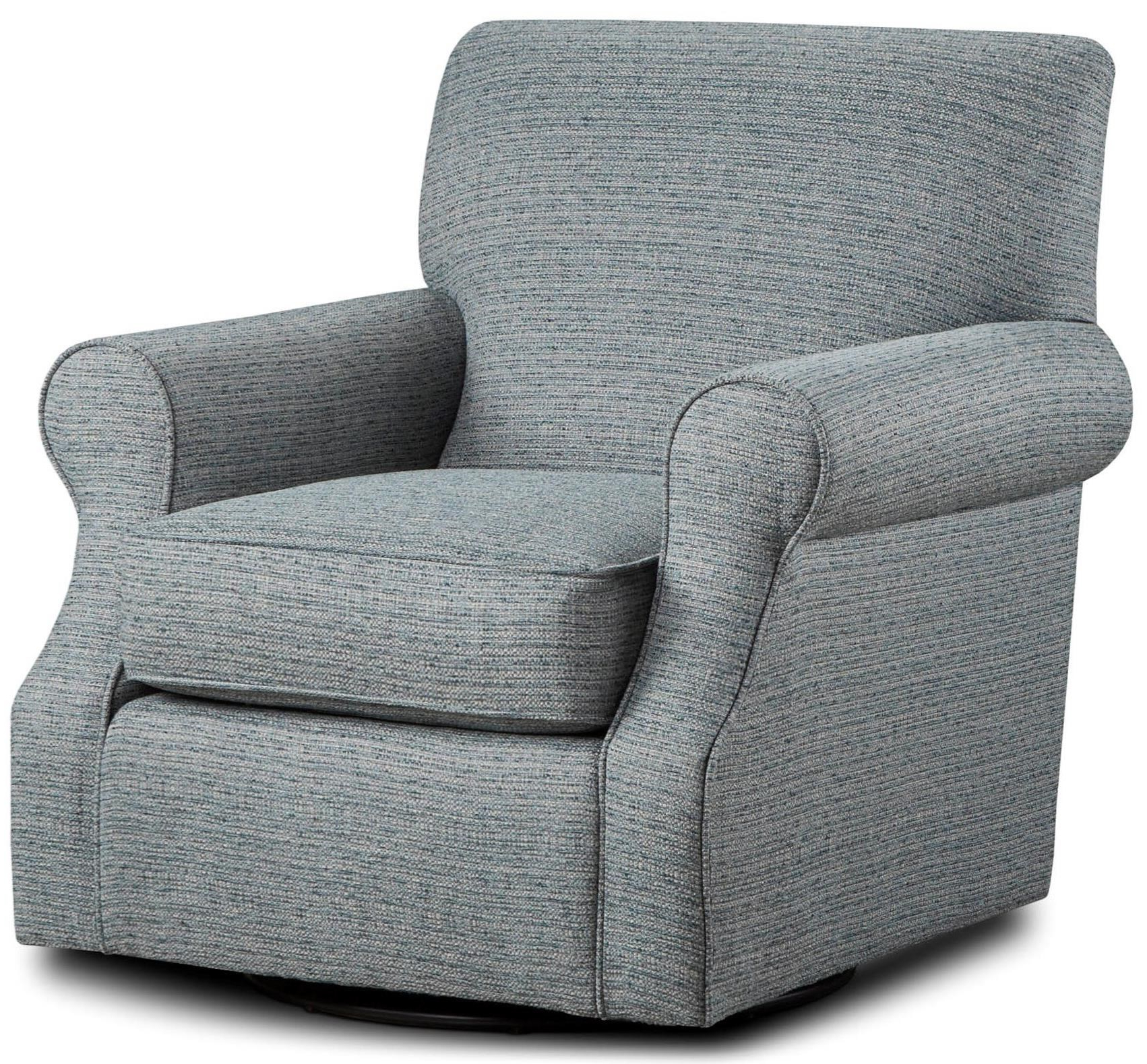 2019 Fusion Furniture 602 Swivel Accent Chair (View 1 of 20)