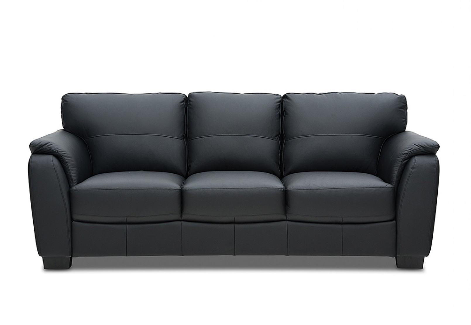 2019 Marissa Leather 3 Seater Sofa (View 1 of 20)